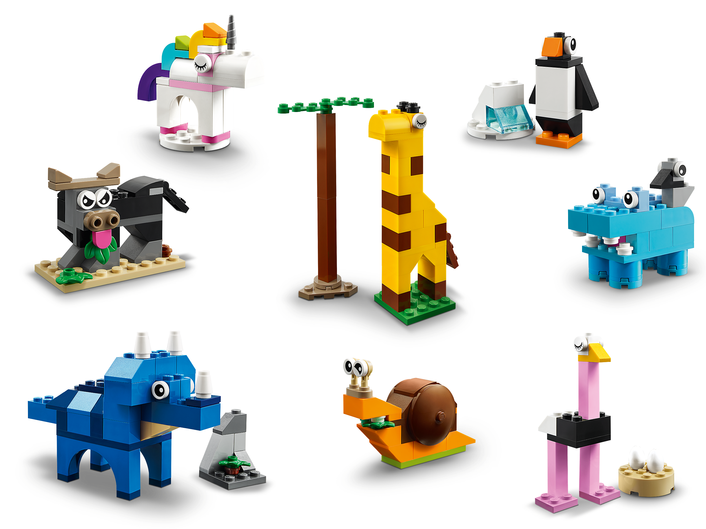 Bricks and Animals