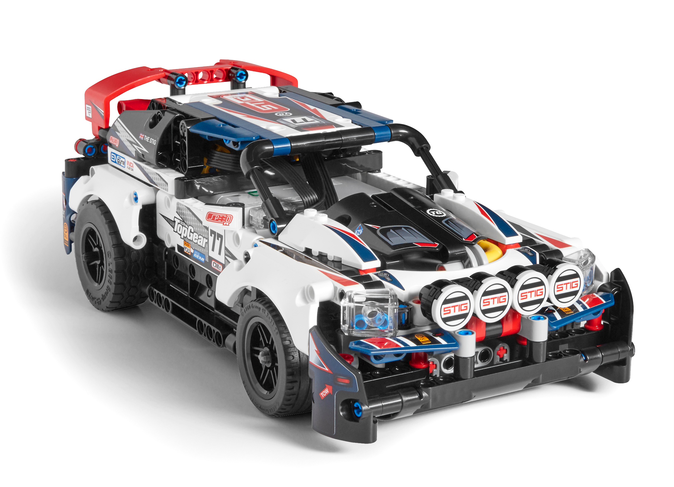 App-Controlled Top Gear Rally Car
