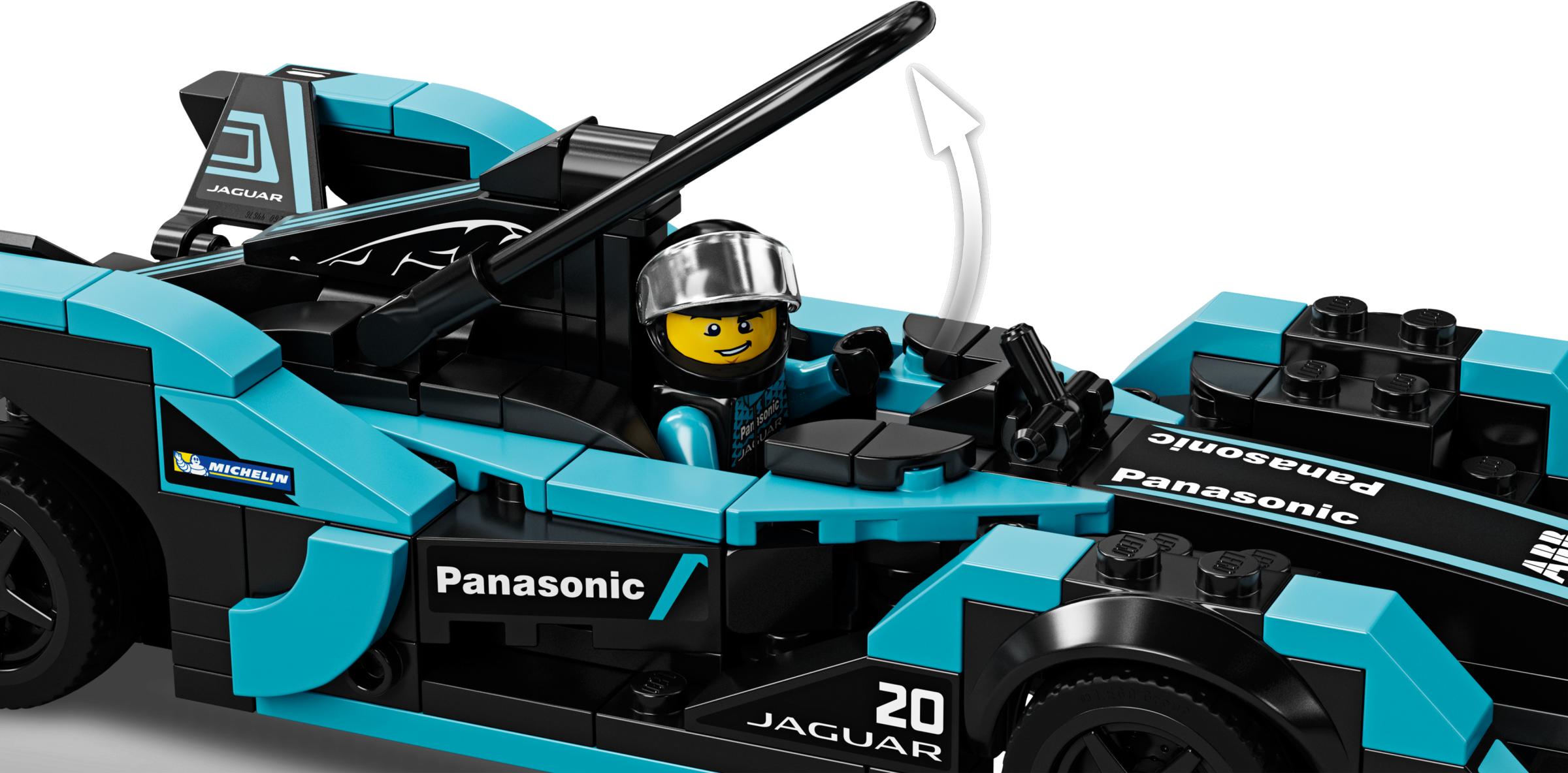 Formula E Panasonic Jaguar Racing GEN2 car & Jaguar I-PACE eTROPHY