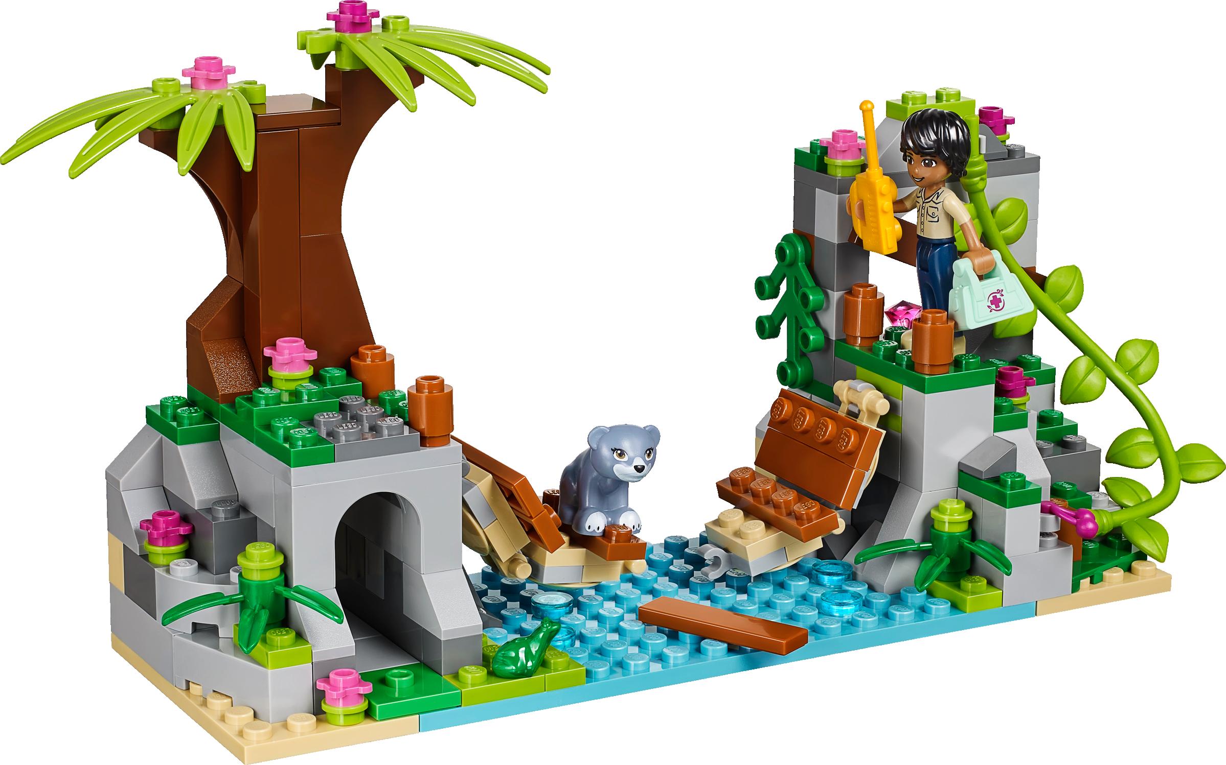 Jungle Bridge Rescue
