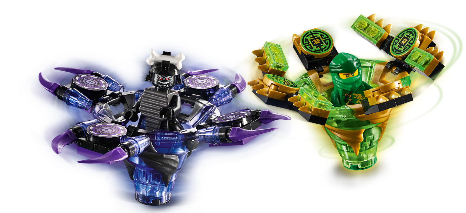 Spinjitzu Lloyd vs. Garmadon