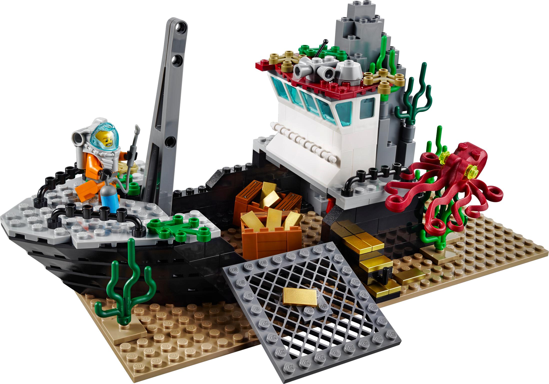 Deep Sea Exploration Vessel