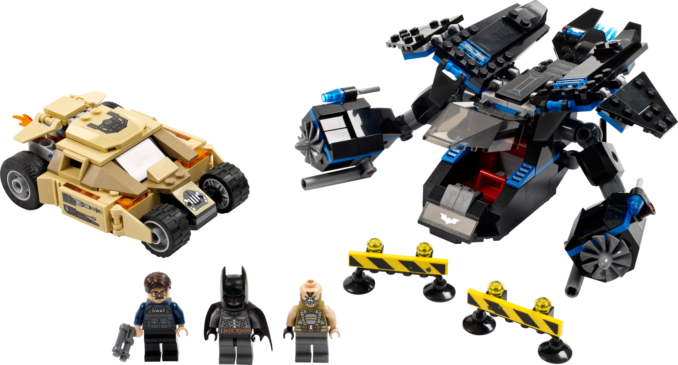 The Bat vs. Bane: Tumbler Chase