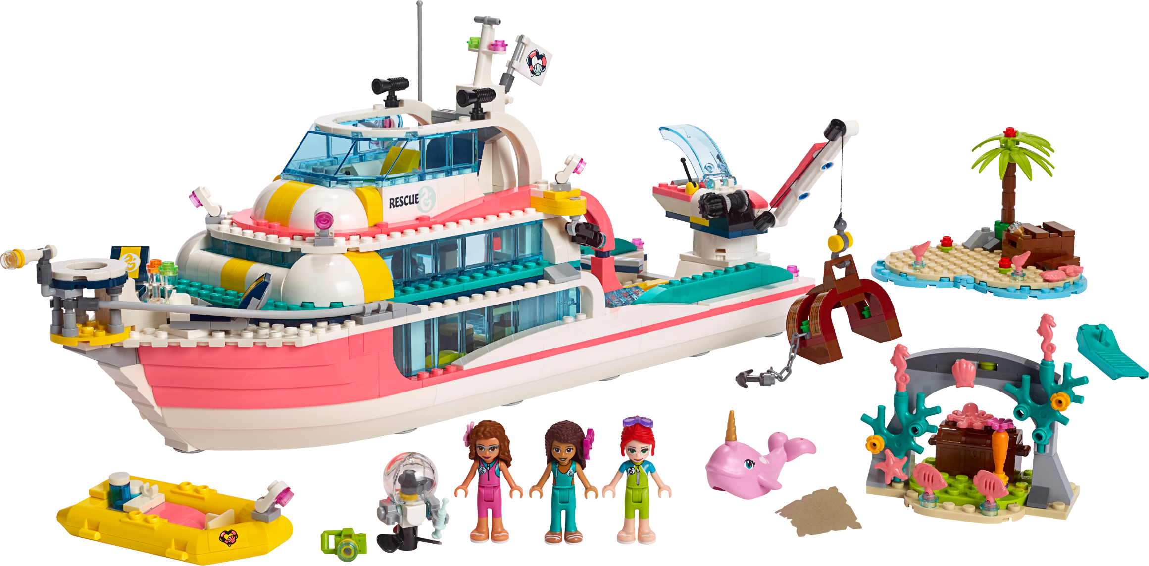 Rescue Mission Boat