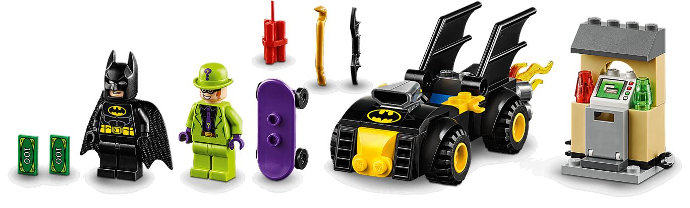 """Batman"""" vs. The Riddler"""" Robbery"""