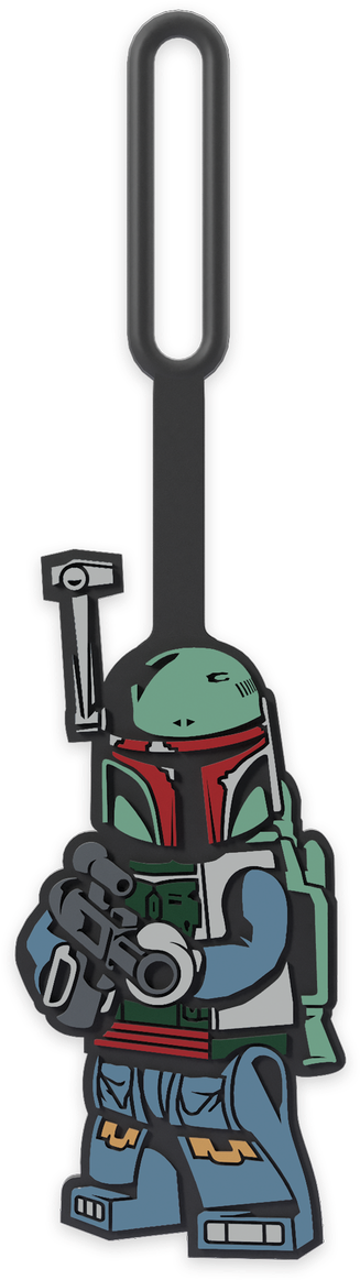 "Boba Fett"" Bag Tag"