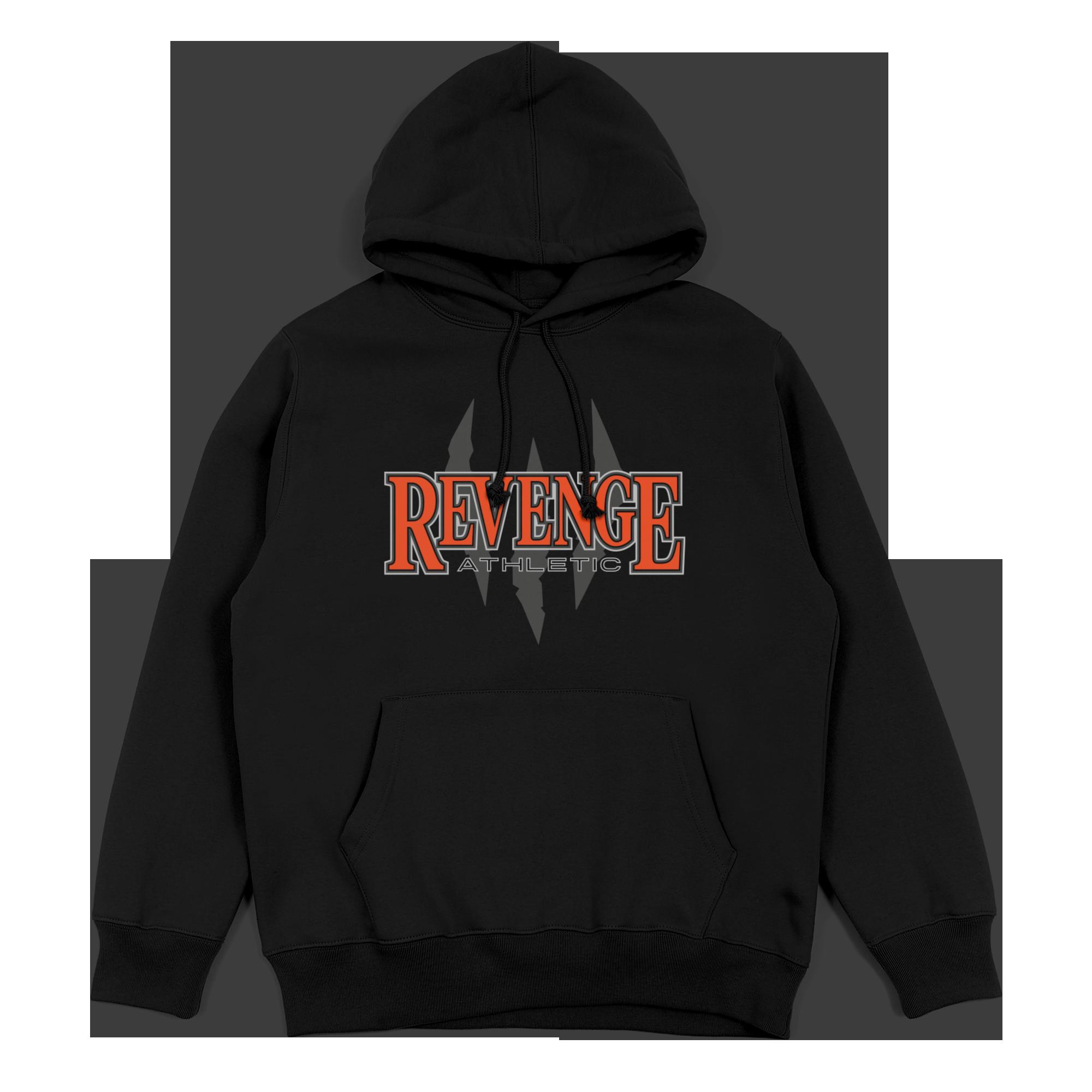Revenge Athletic Hoodie - Black