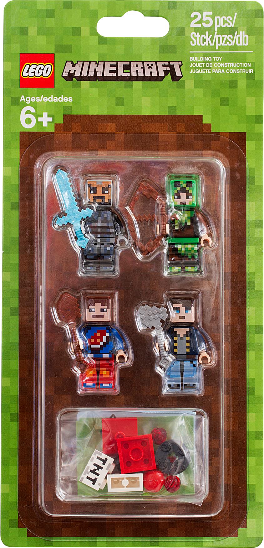 LEGO® Minecraft™ Skin Pack 1