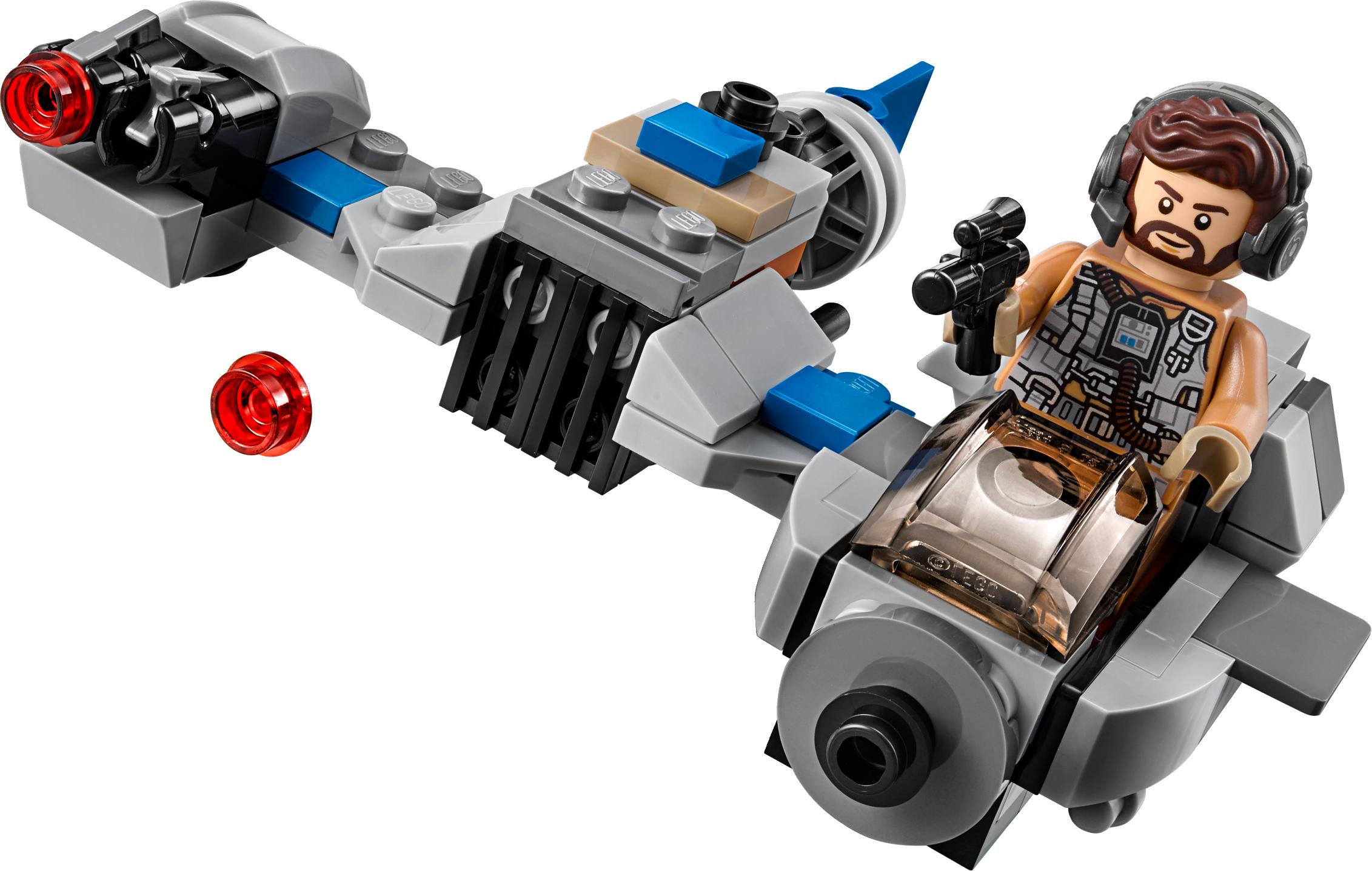 Ski Speeder™ vs. First Order Walker™ Microfighters