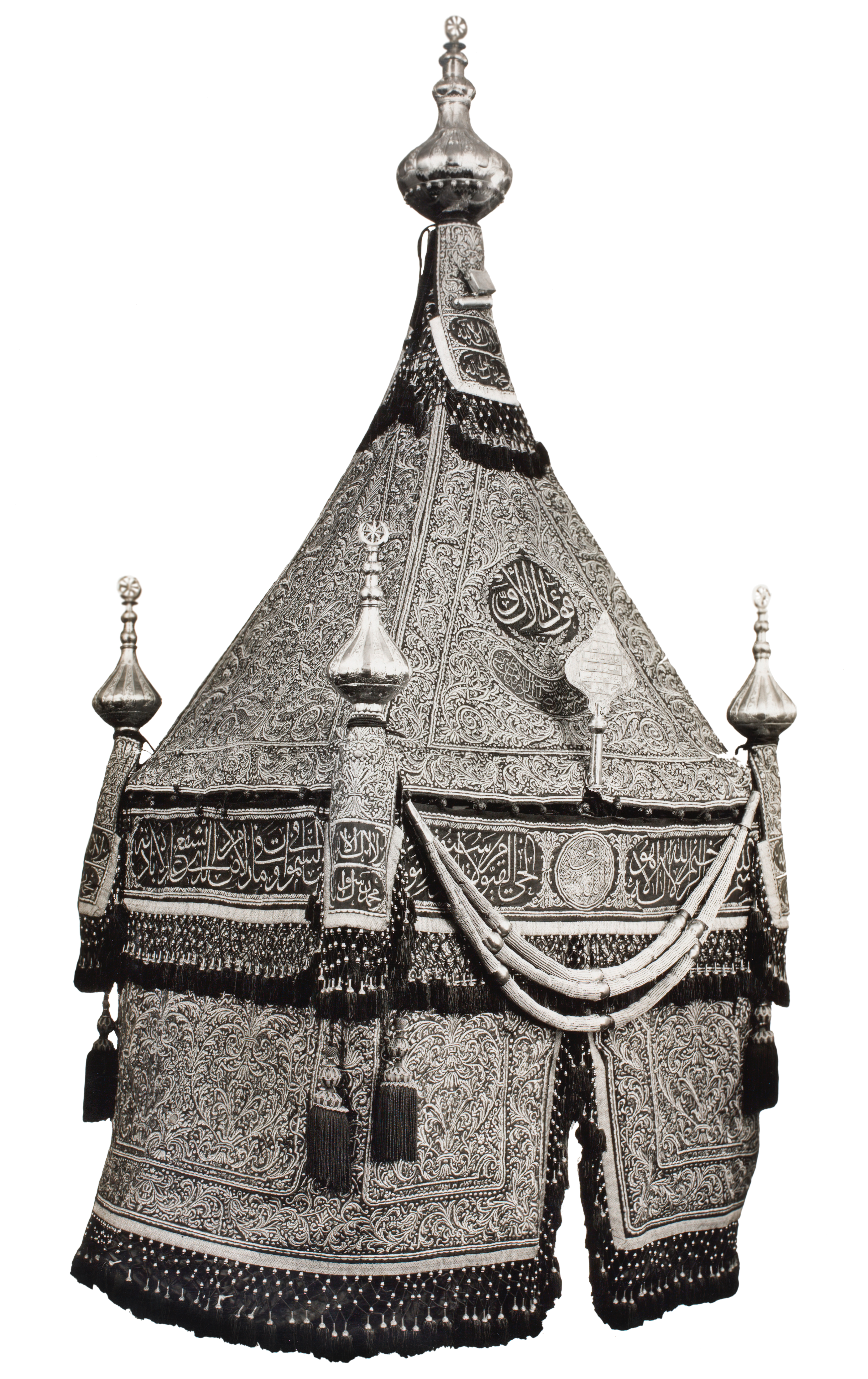 The Egyptian mahmal, with the name of King Fu'ad I; by Riyad Chihata