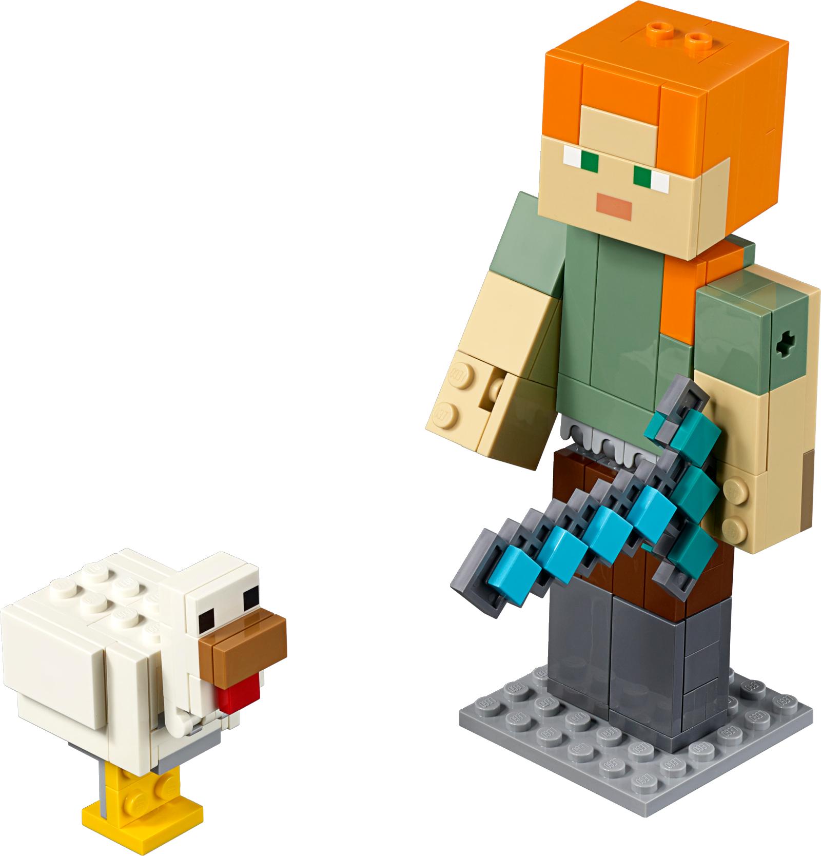 Minecraft™ Alex BigFig with Chicken