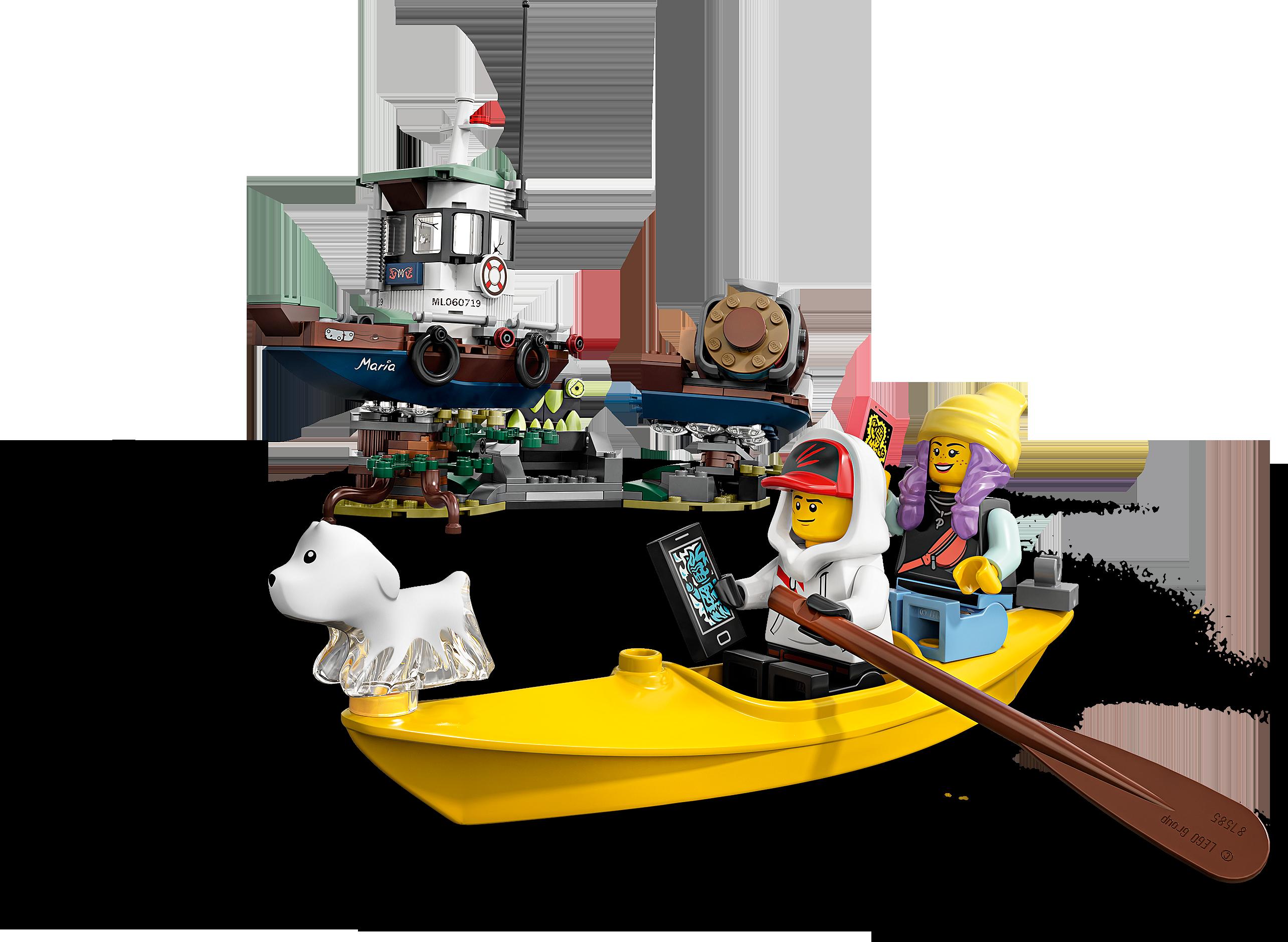 Wrecked Shrimp Boat