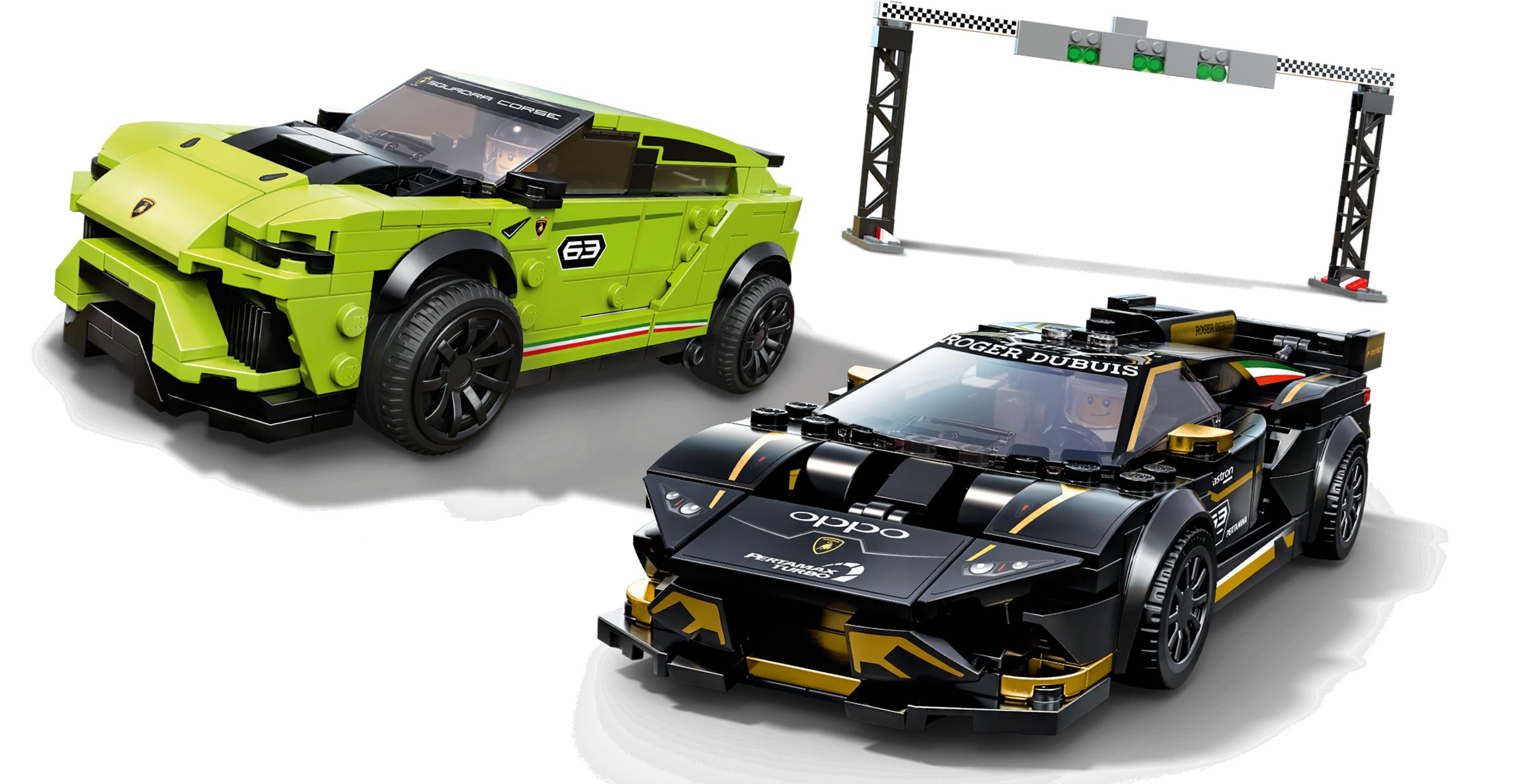 Lamborghini Urus ST-X & Lamborghini Hurac n Super Trofeo EVO