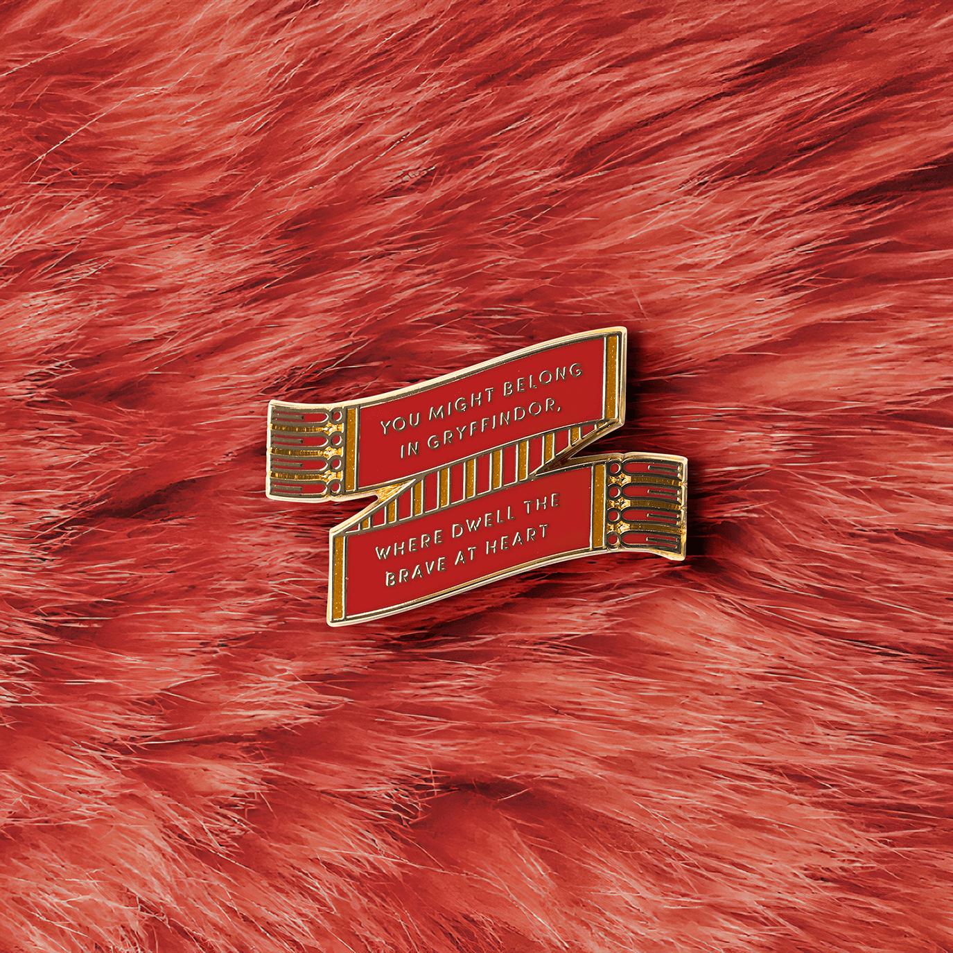 Gryffindor™ Scarf Enamel Pin