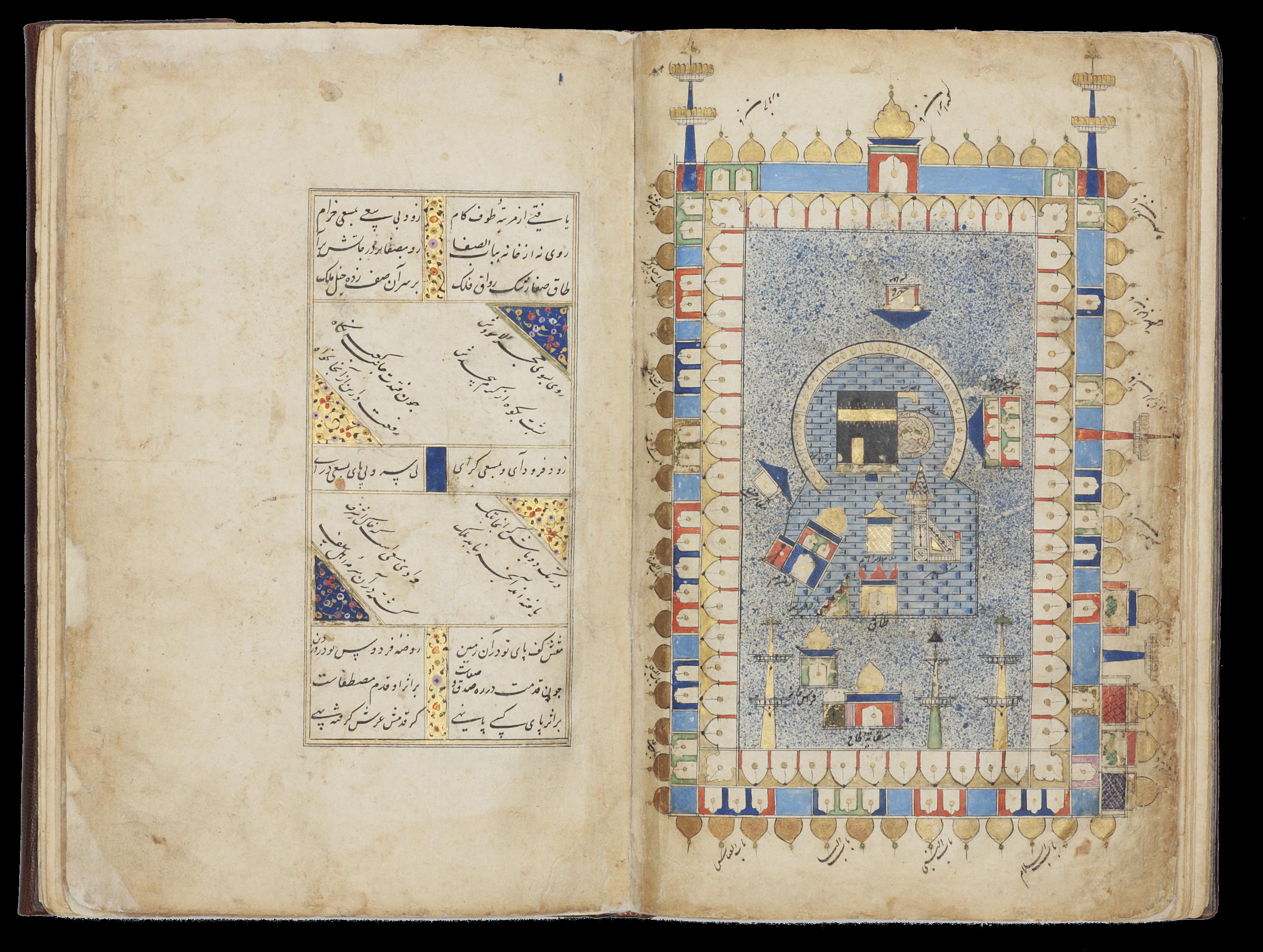 An illustrated copy of the Kitab futuh al-haramayn of Muhyi Lari
