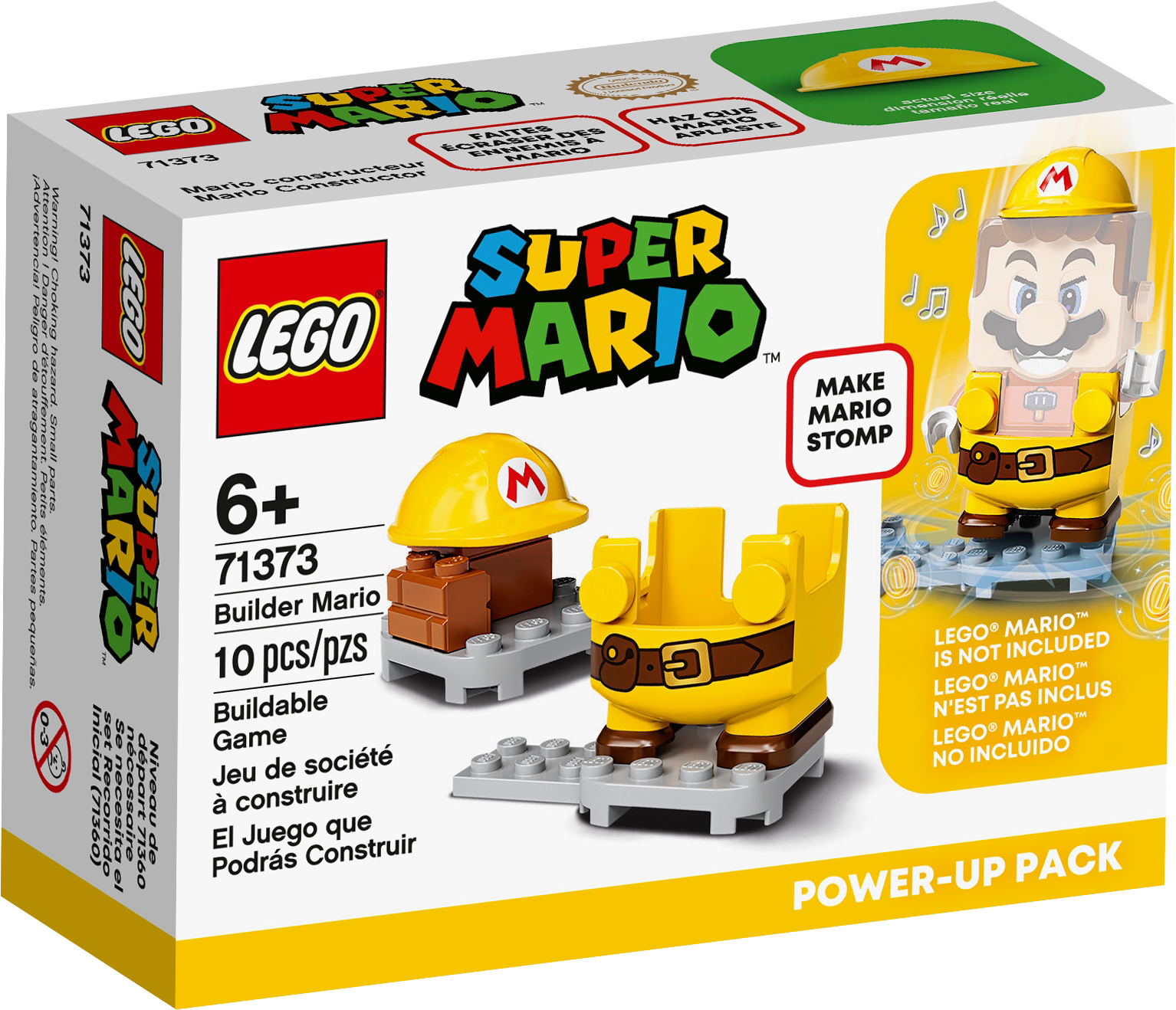 Builder Mario Power-Up Pack