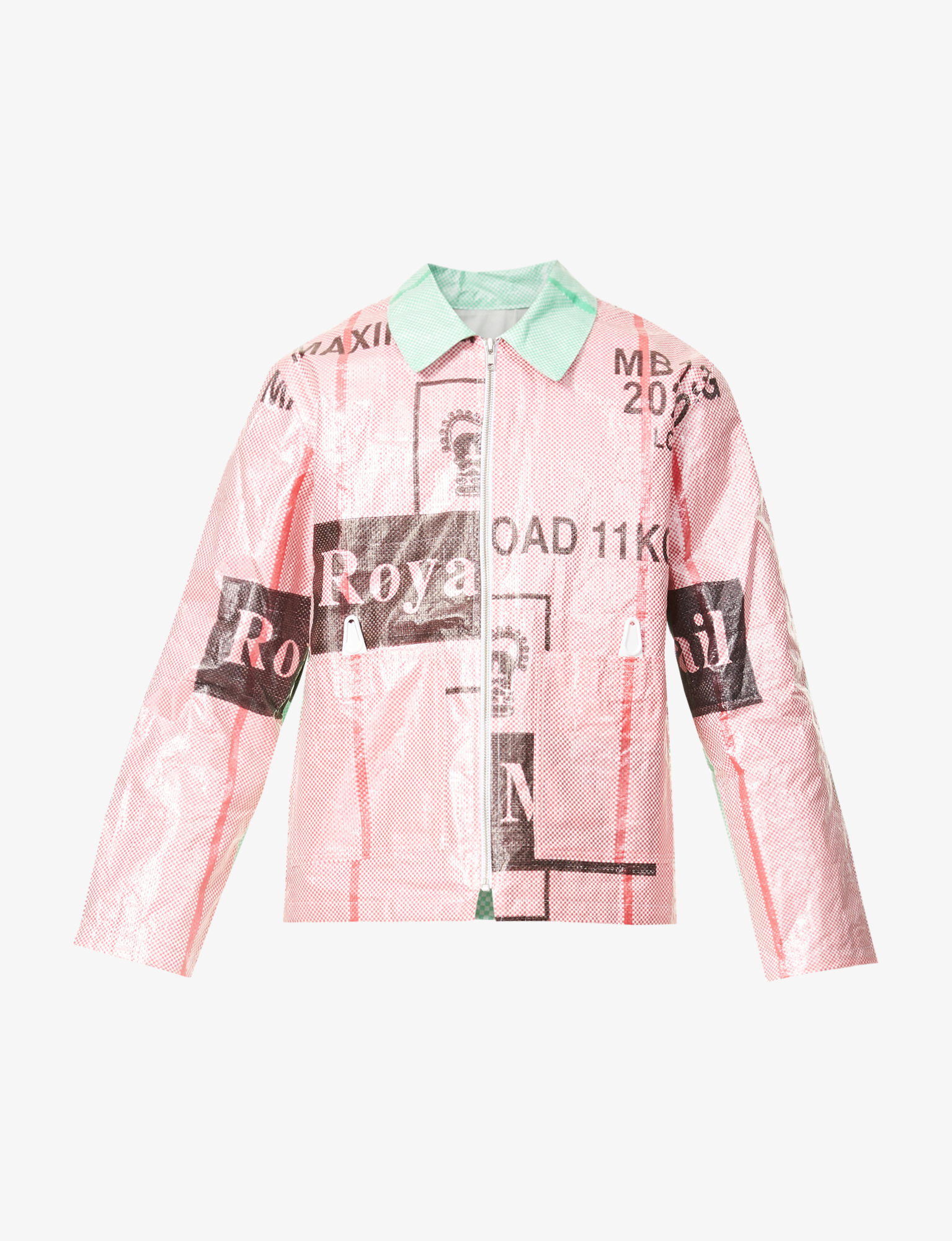 WORK JACKET / RED GREEN