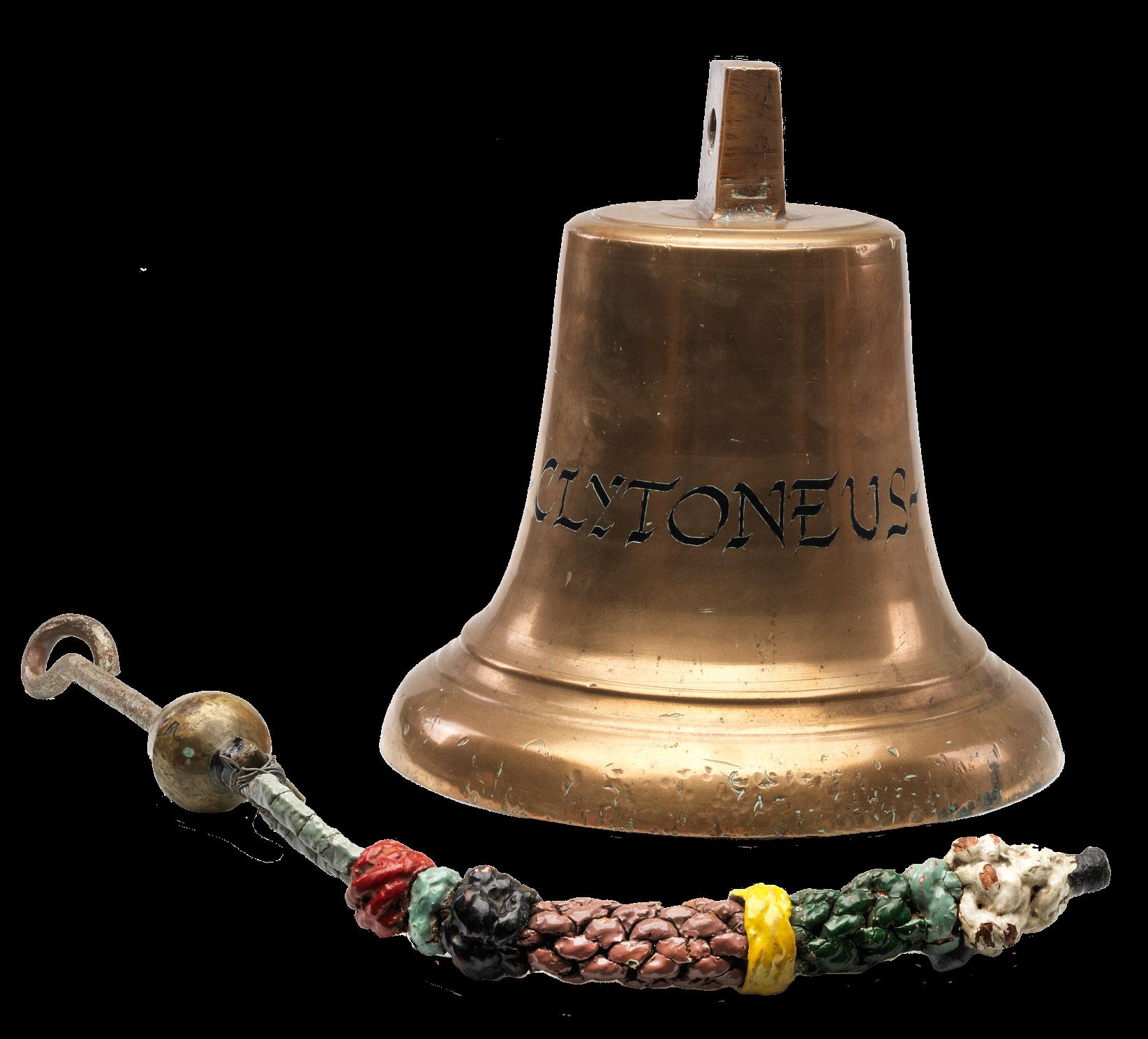Bell from the pilgrim ship Clytoneus