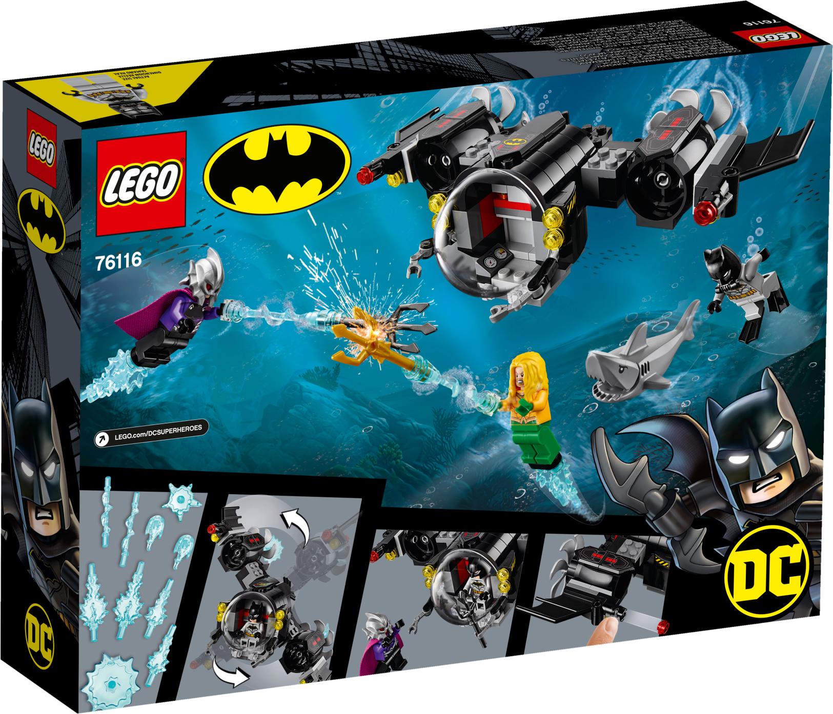 Batman™ Batsub and the Underwater Clash