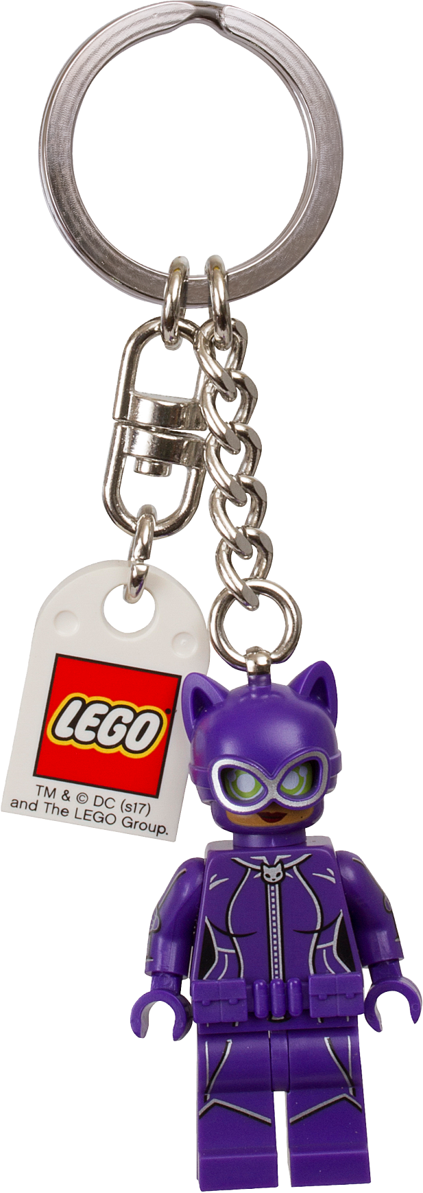 THE LEGO® BATMAN MOVIE Catwoman™ Keyring