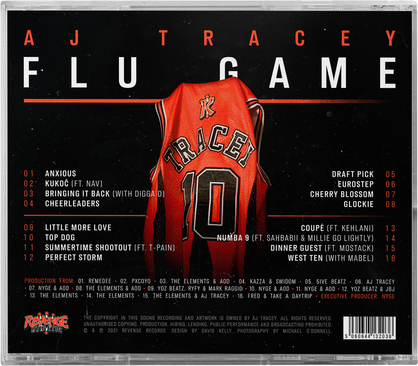 Flu Game CD + Collegiate Tracksuit Bundle - Grey