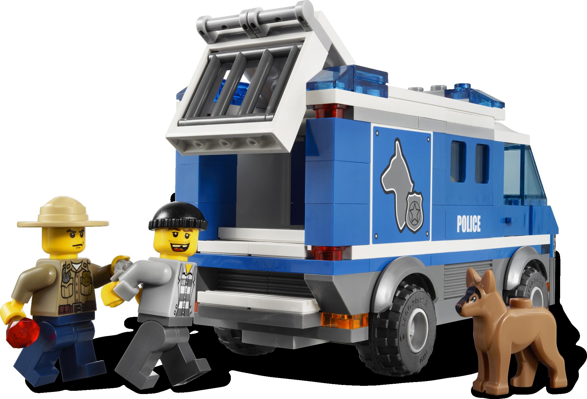 Police Dog Van