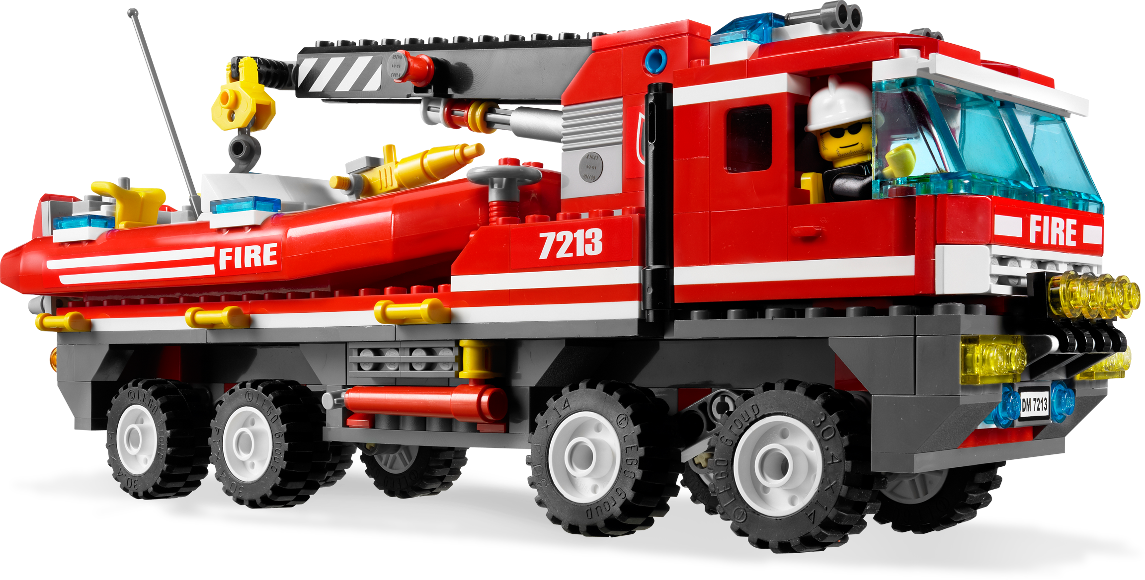 Off-Road Fire Truck & Fireboat