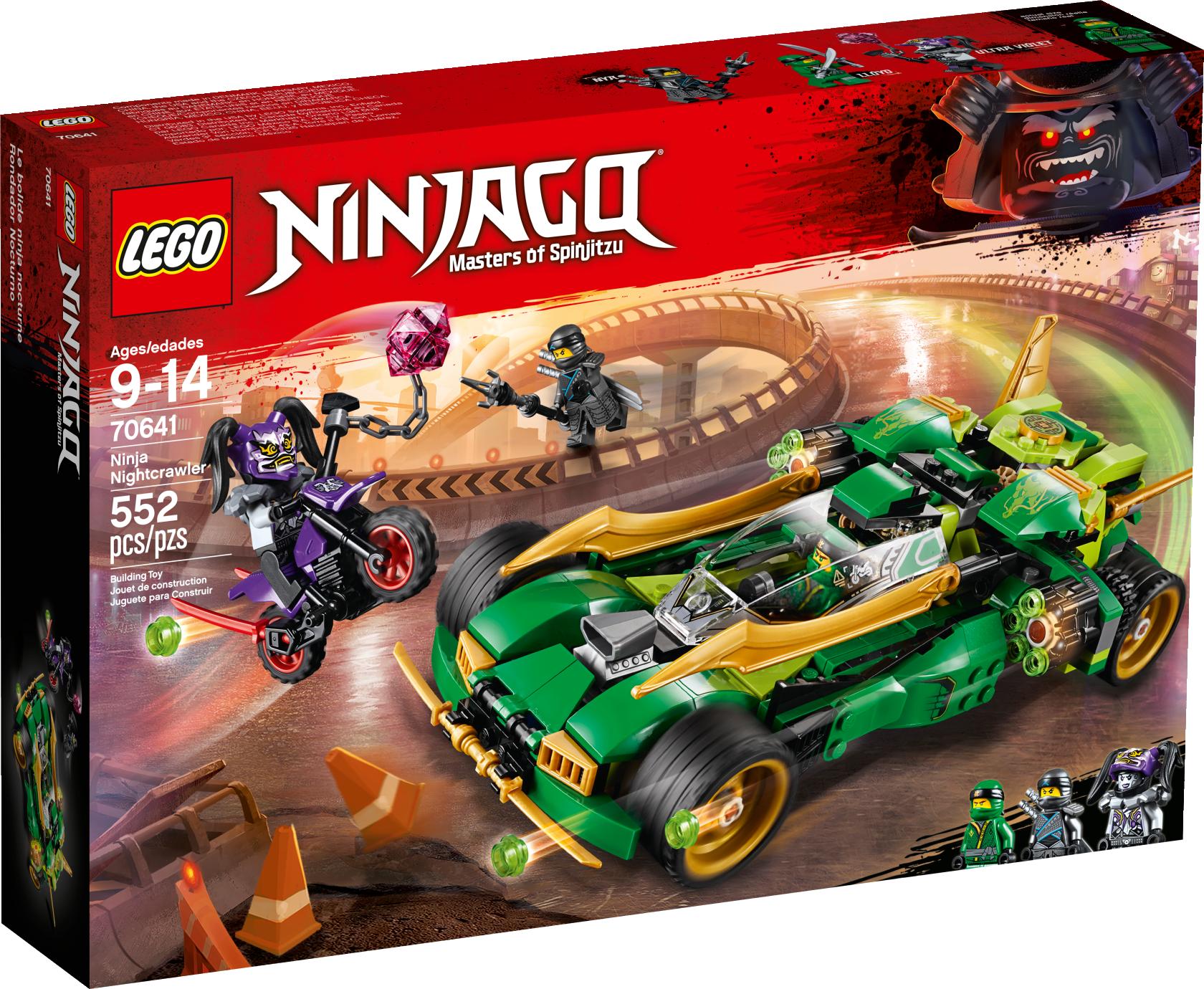 Ninja Nightcrawler