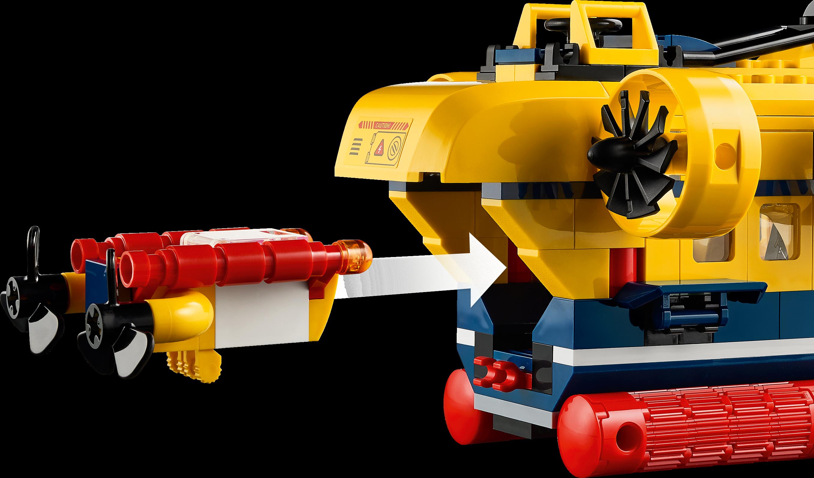 Ocean Exploration Submarine