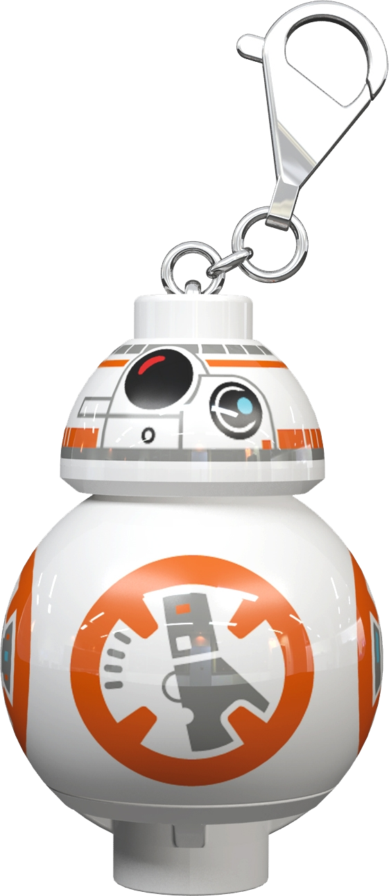 "LEGO Star Wars"" BB-8"" LED Keyring Torch"