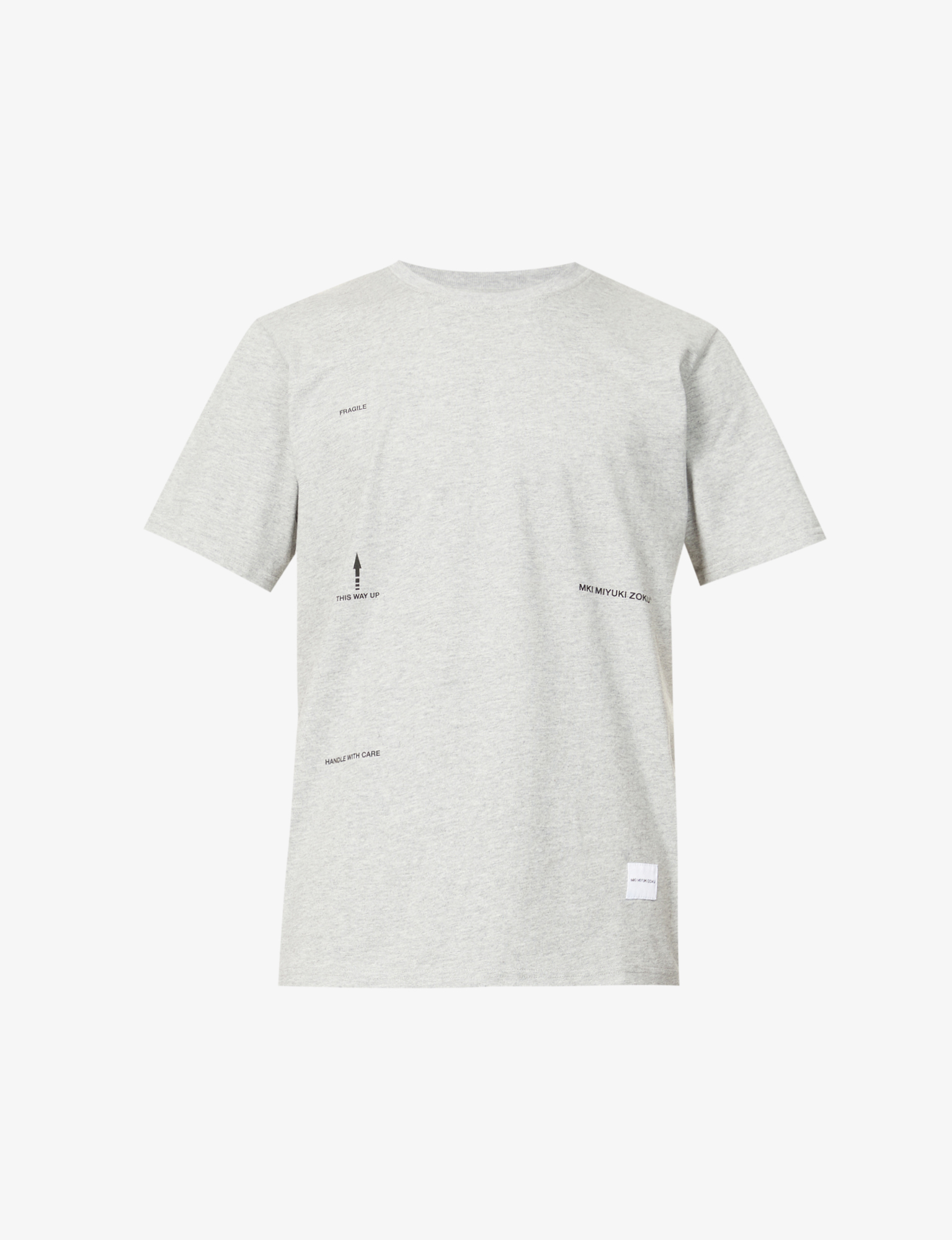 MKI EXCL ROYAL MAIL TEE GREY
