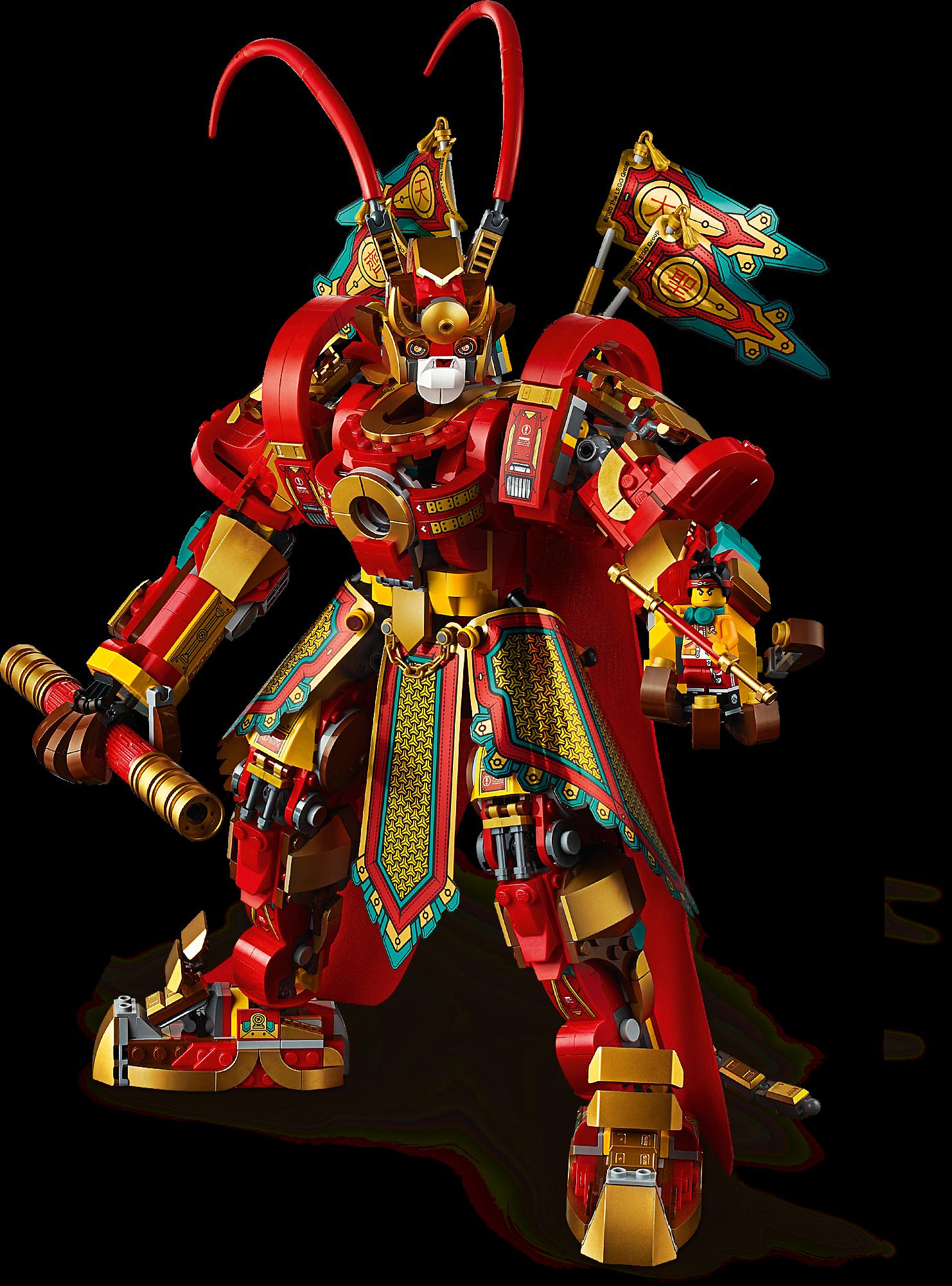 Monkey King Warrior Mech