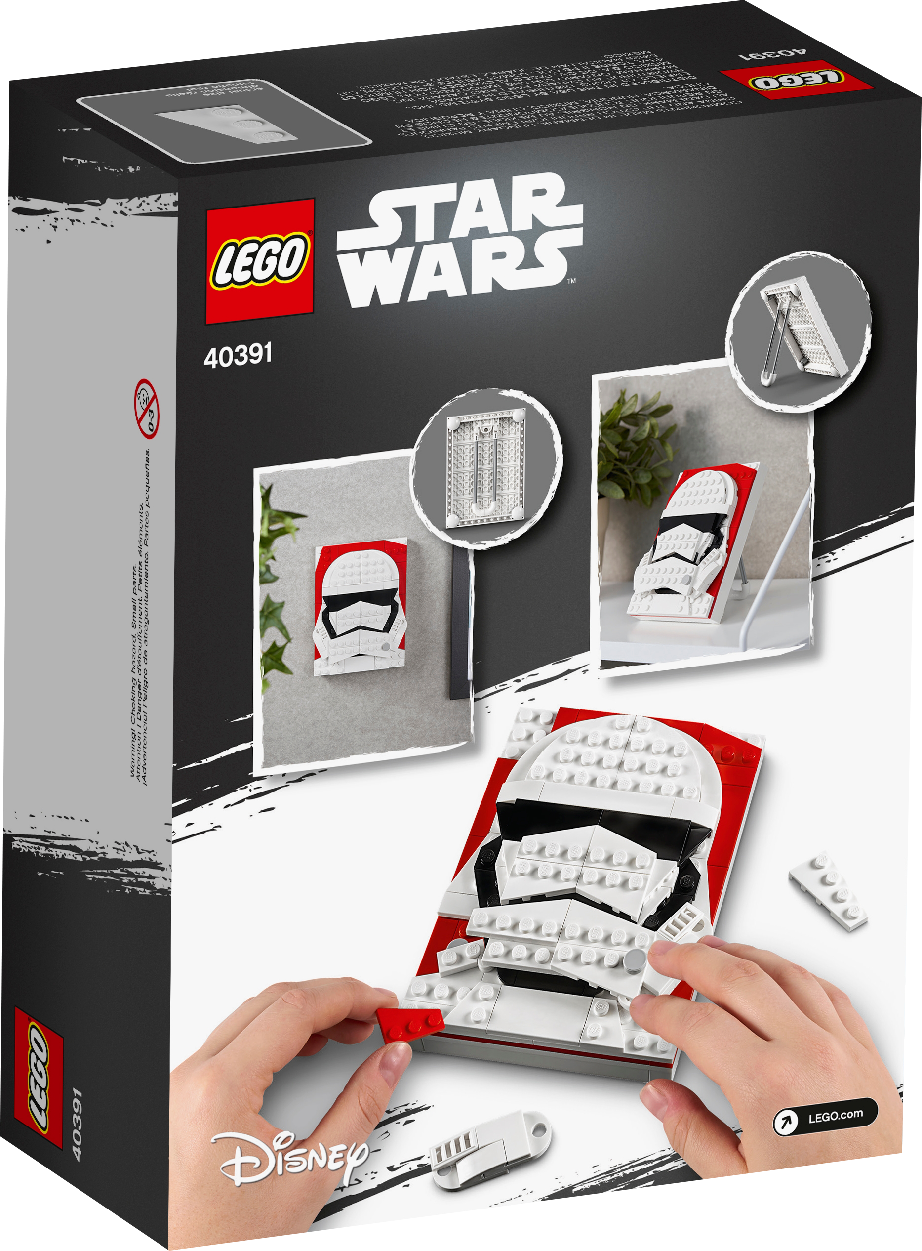 First Order Stormtrooper™ - Brick Sketches