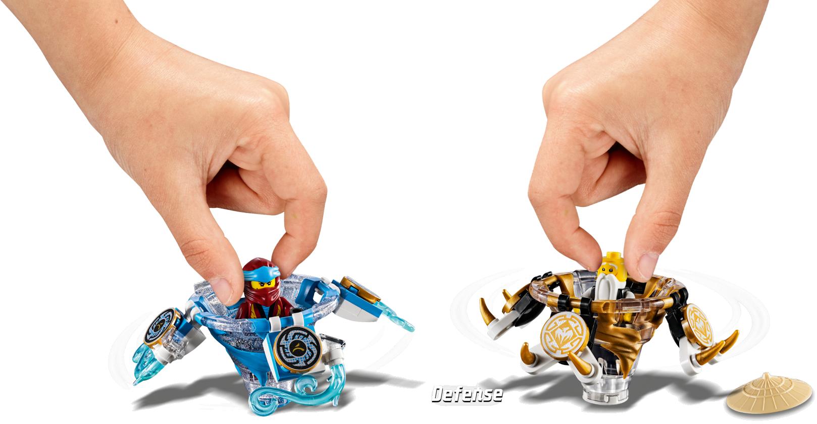 Spinjitzu Nya & Wu