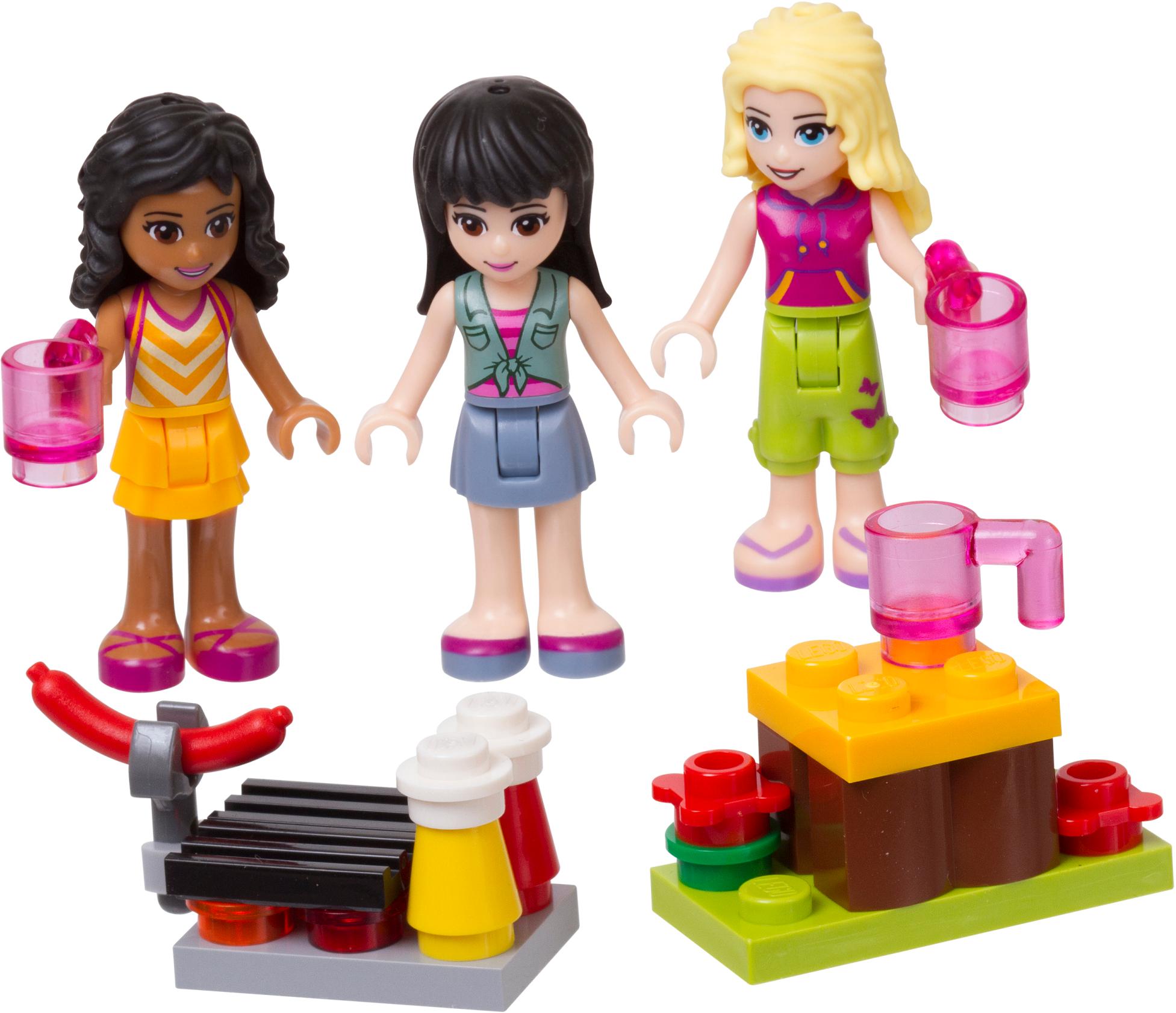 Mini-doll Campsite set
