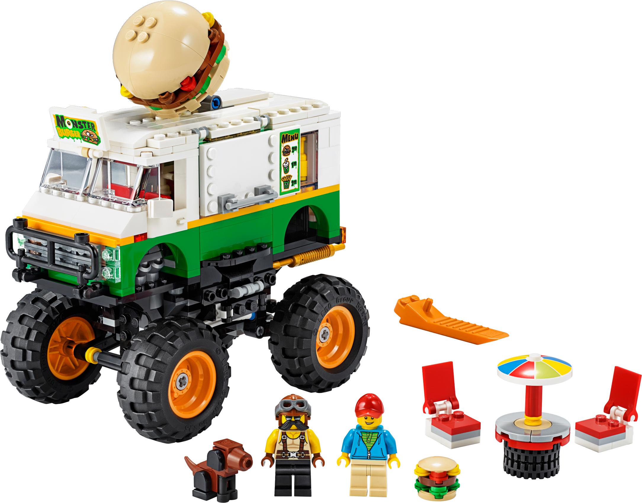 Monster Burger Truck
