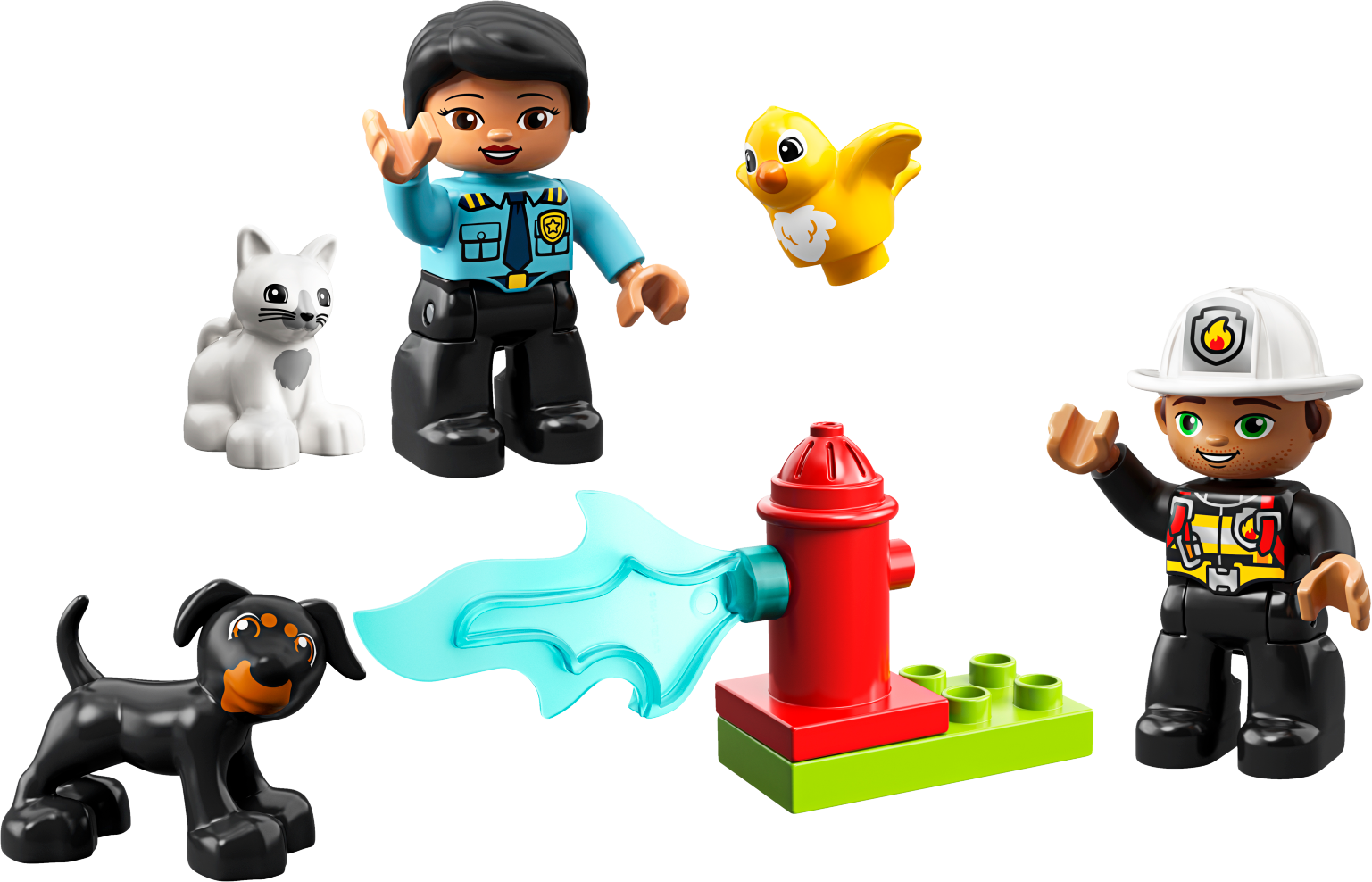 Town Rescue - Policewoman