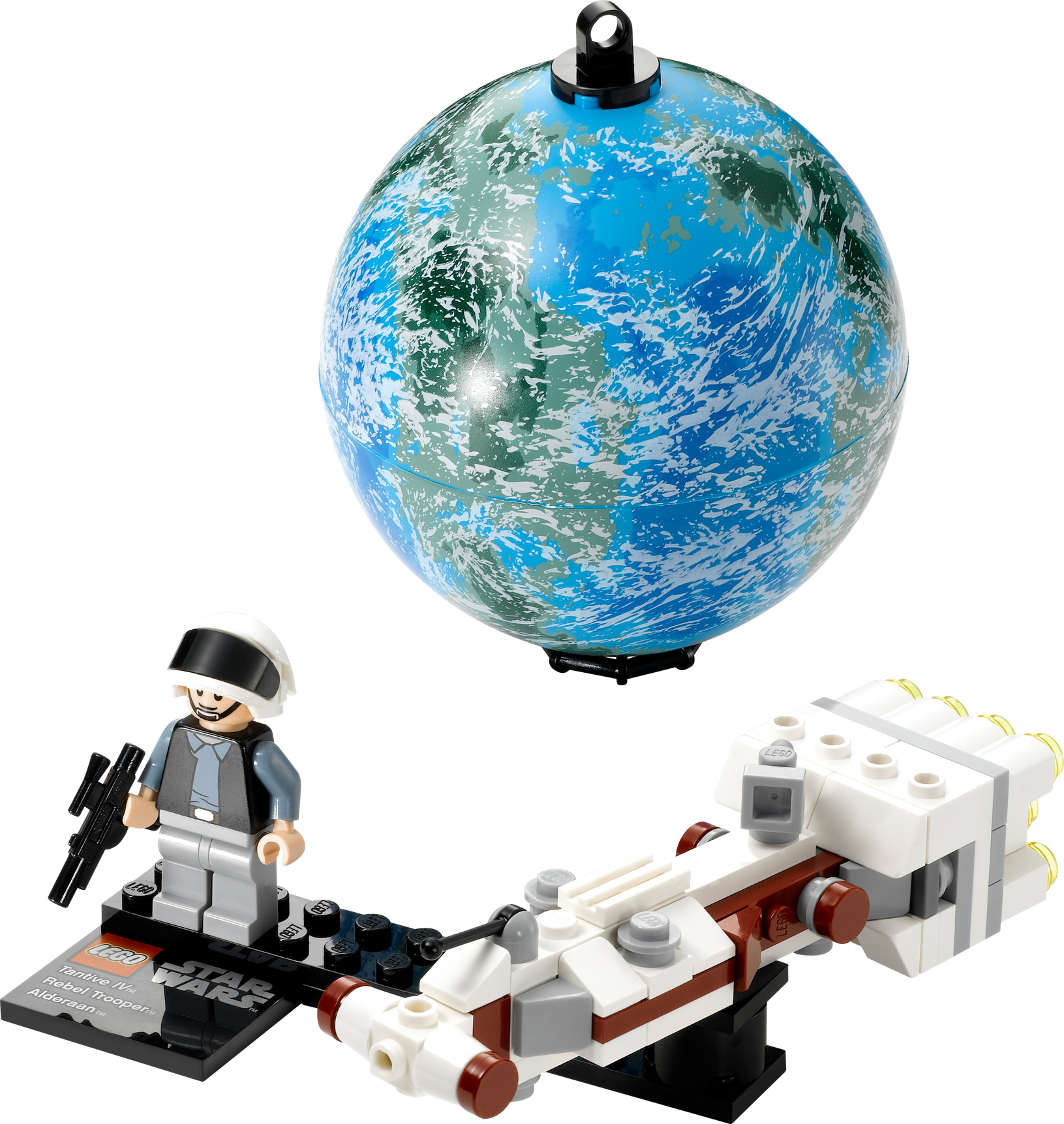 Tantive IV & Planet Alderaan