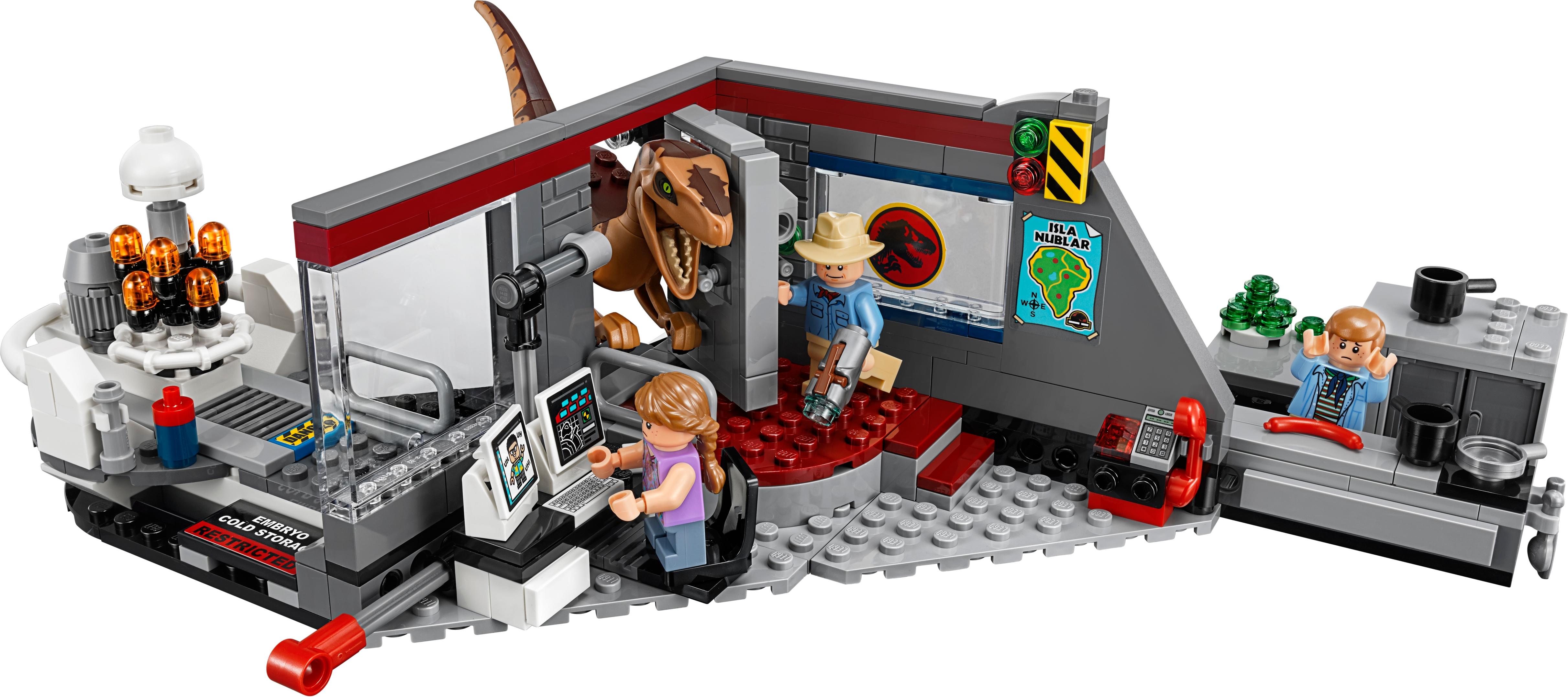 Jurassic Park Velociraptor Chase