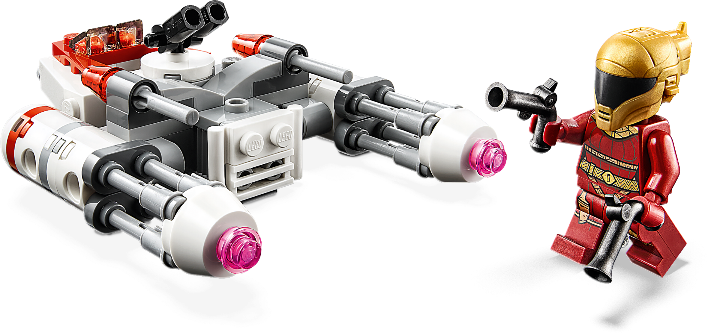 """Resistance Y-wing"""" Microfighter"""