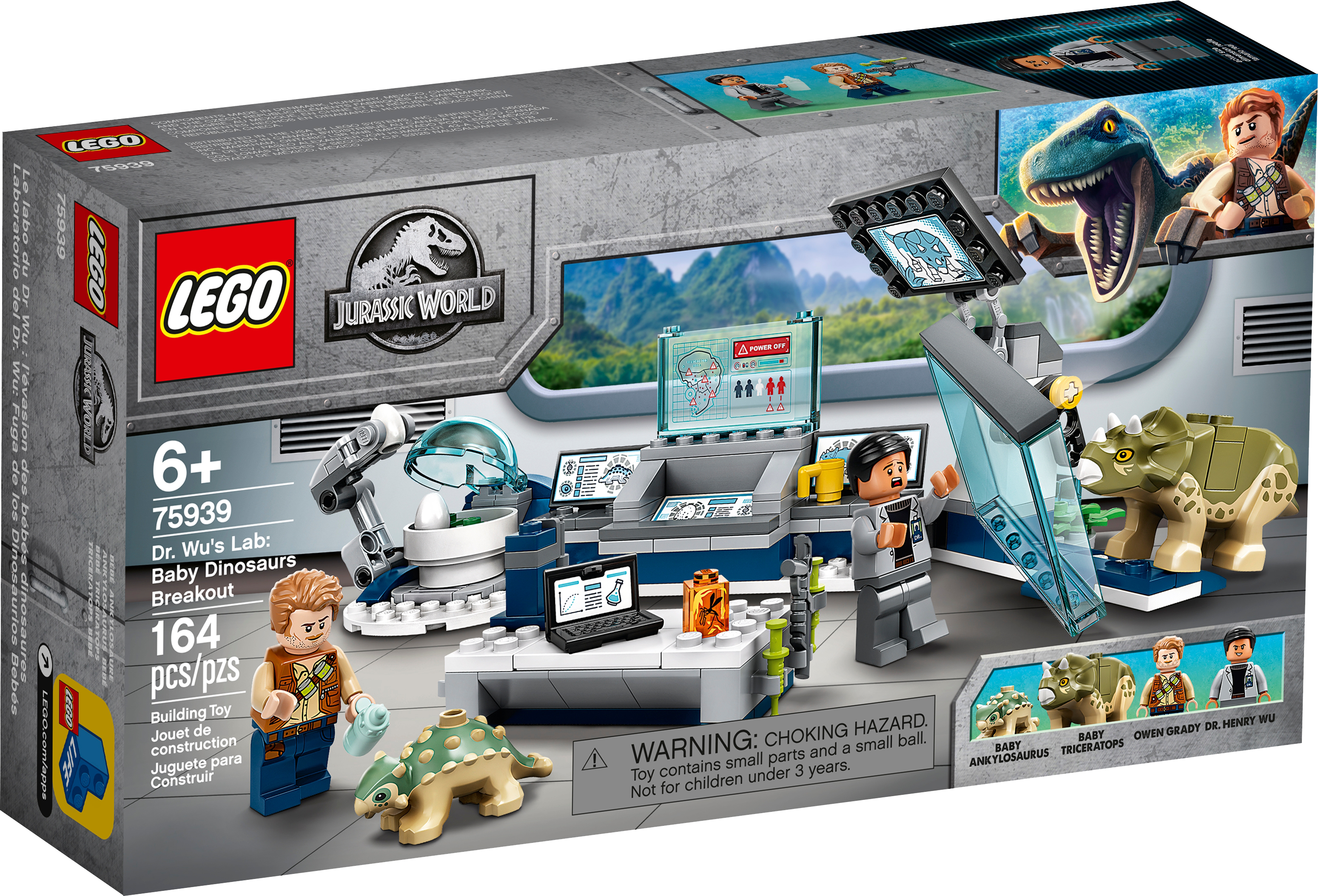 Jurassic World Dr Wus Lab