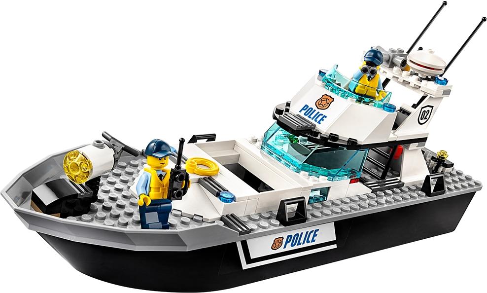 Police Patrol Boat