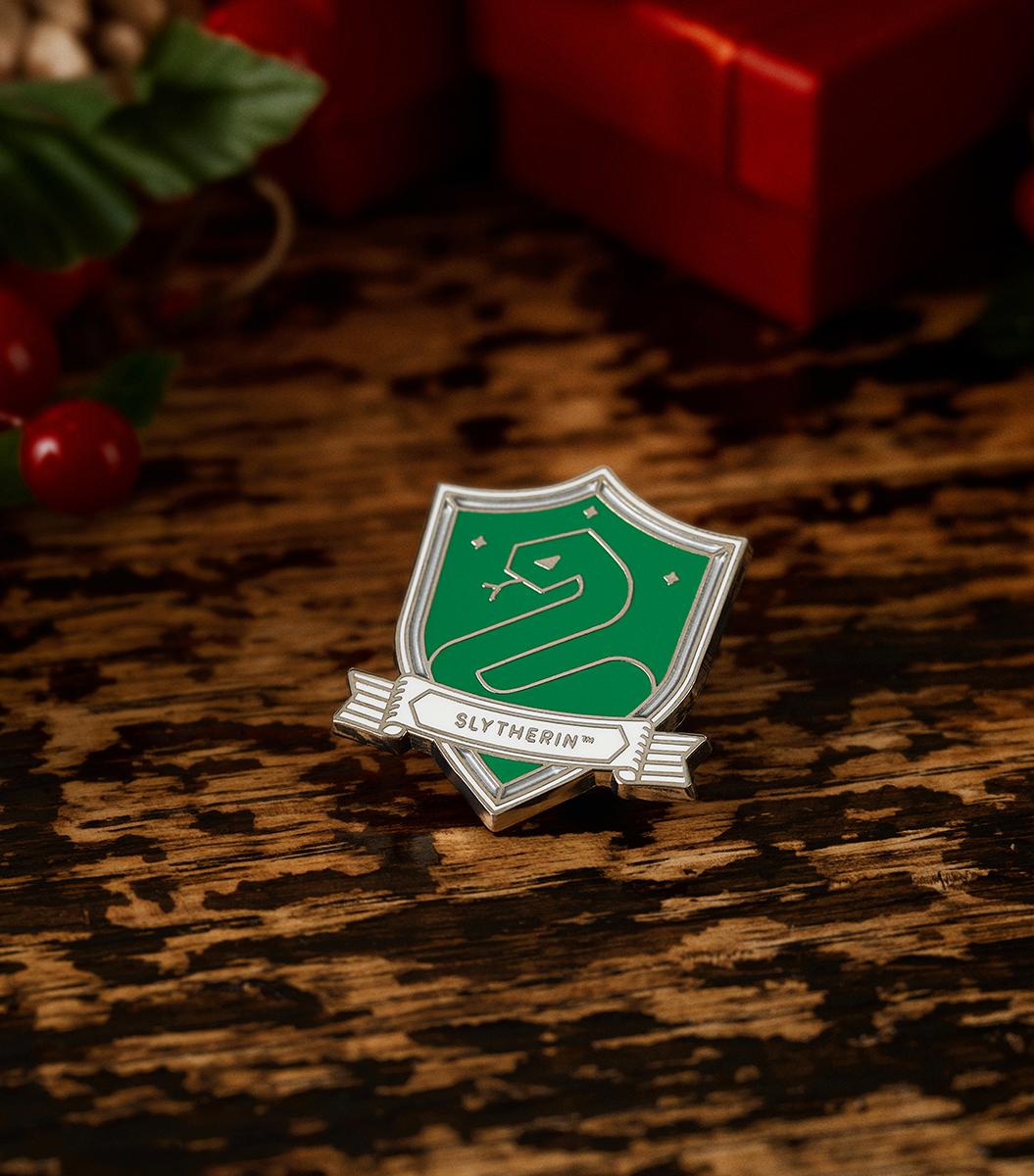 Slytherin™ House Crest Enamel Pin