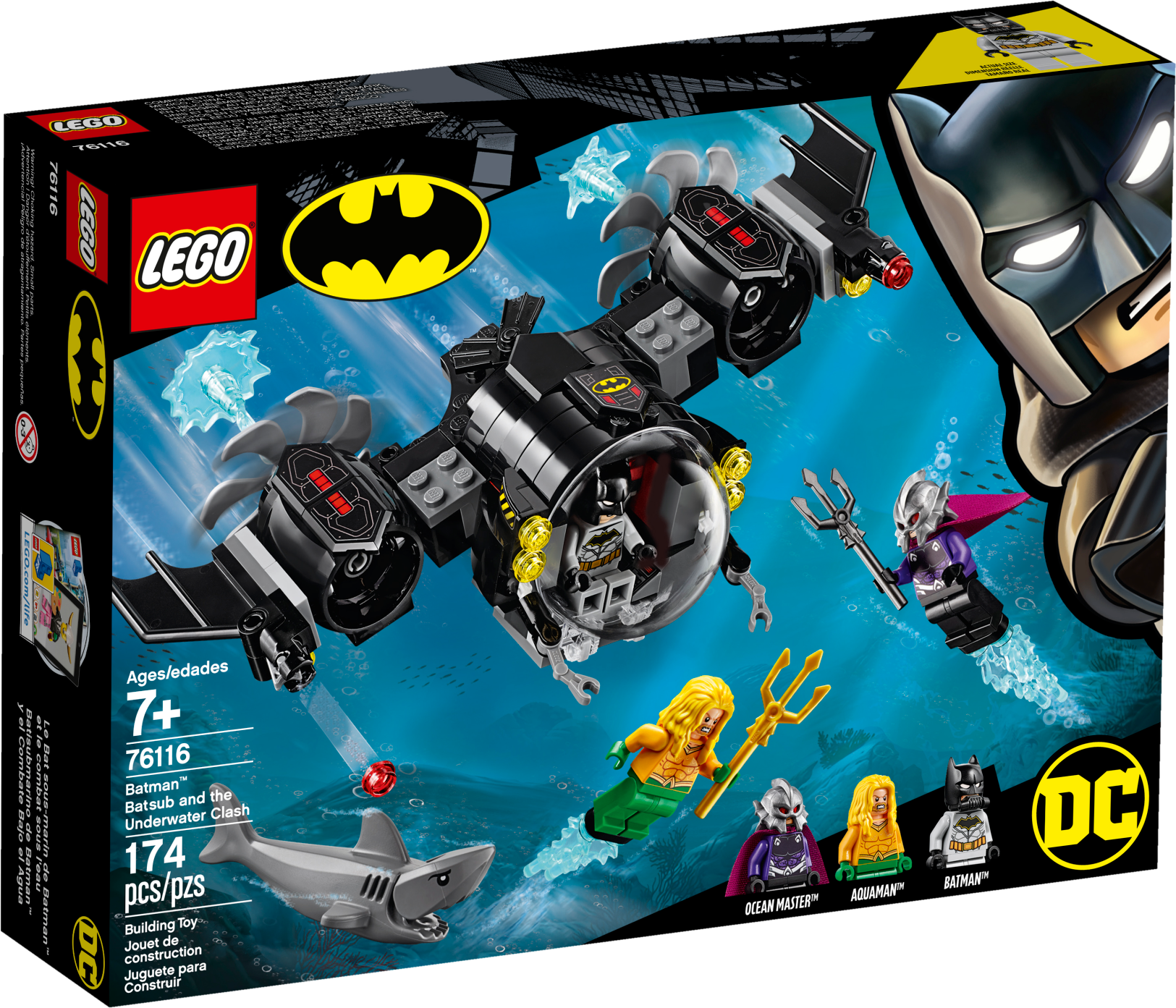 Batman™ Batsub and the Underwater Clash