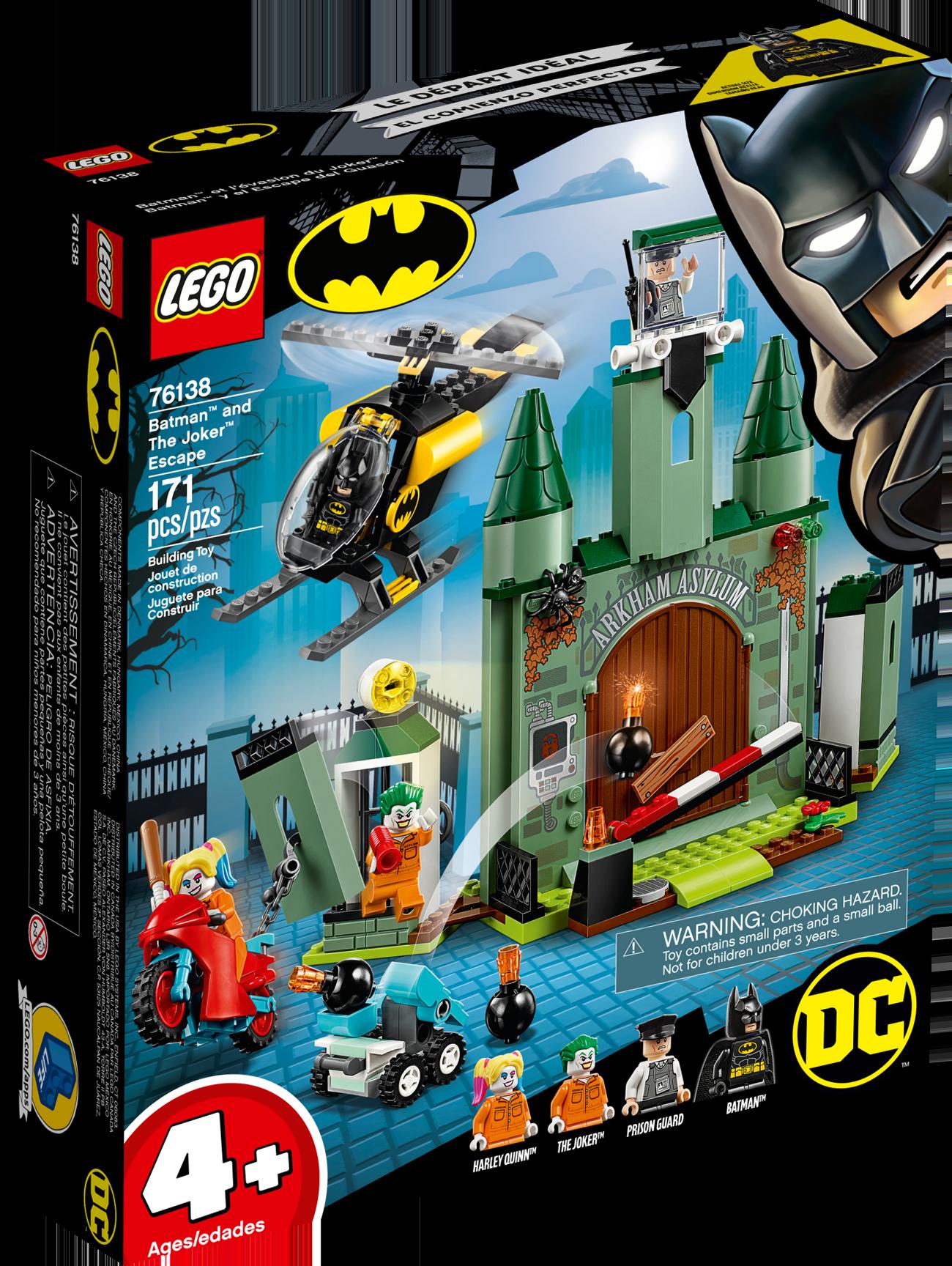 "Batman"" and The Joker"" Escape"