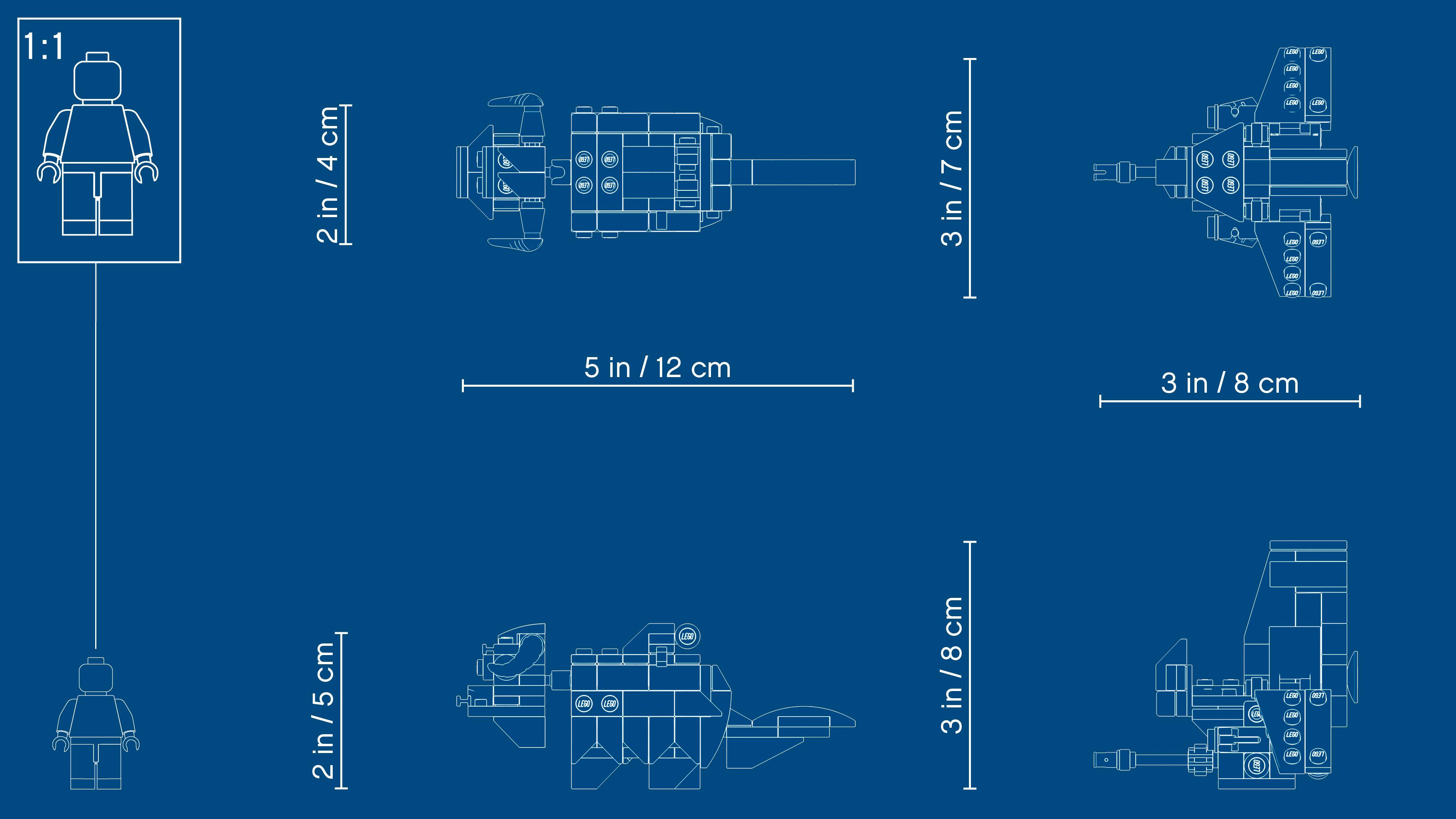 T-16 Skyhopper vs Bantha Microfighters