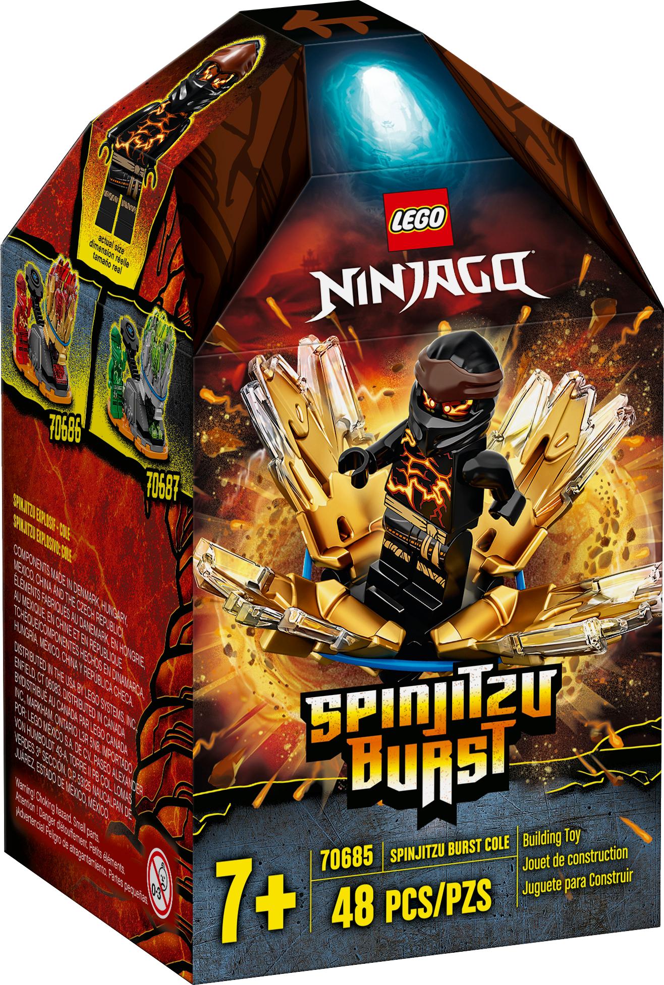 Spinjitzu Burst - Cole