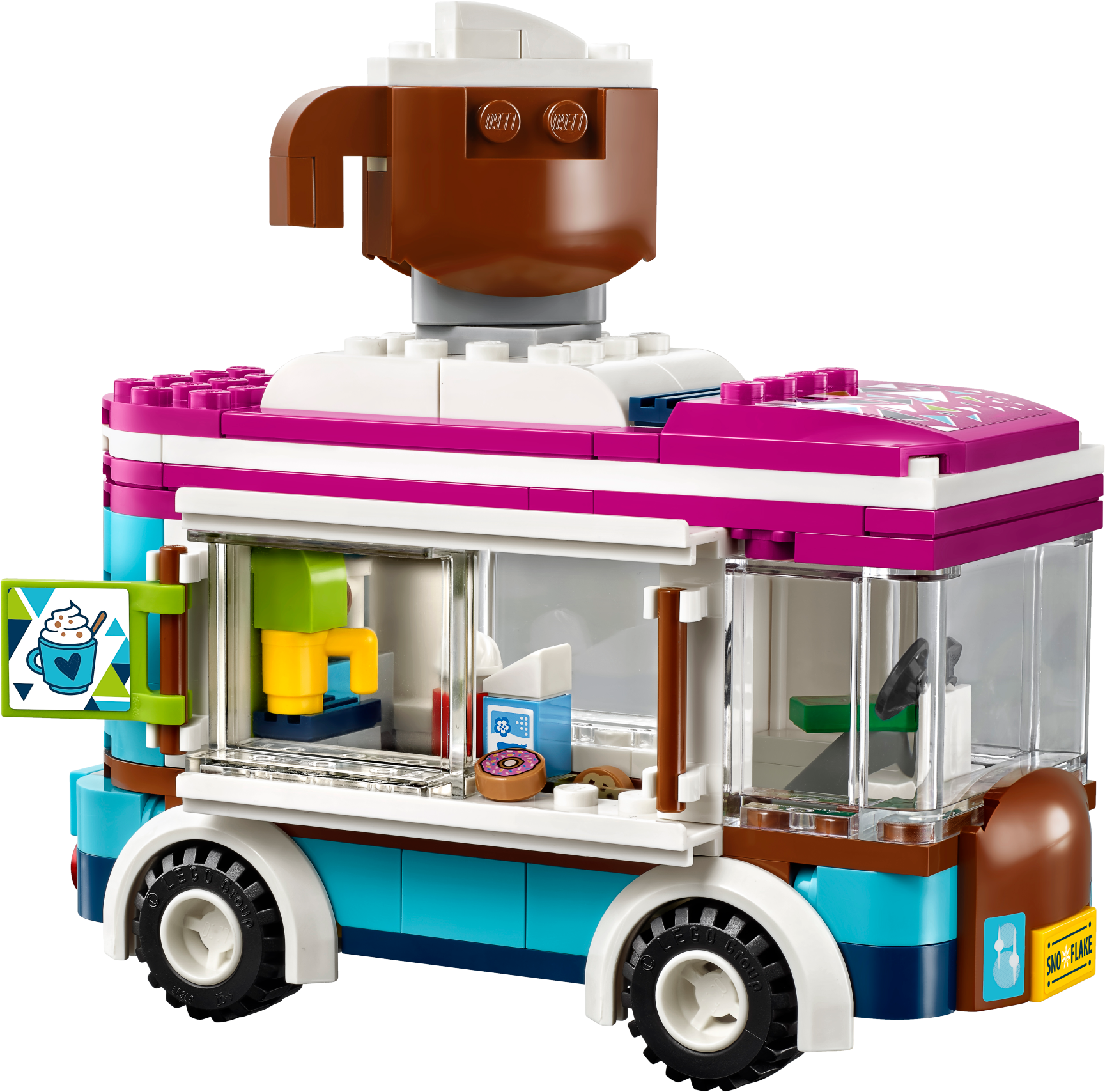 Snow Resort Hot Chocolate Van
