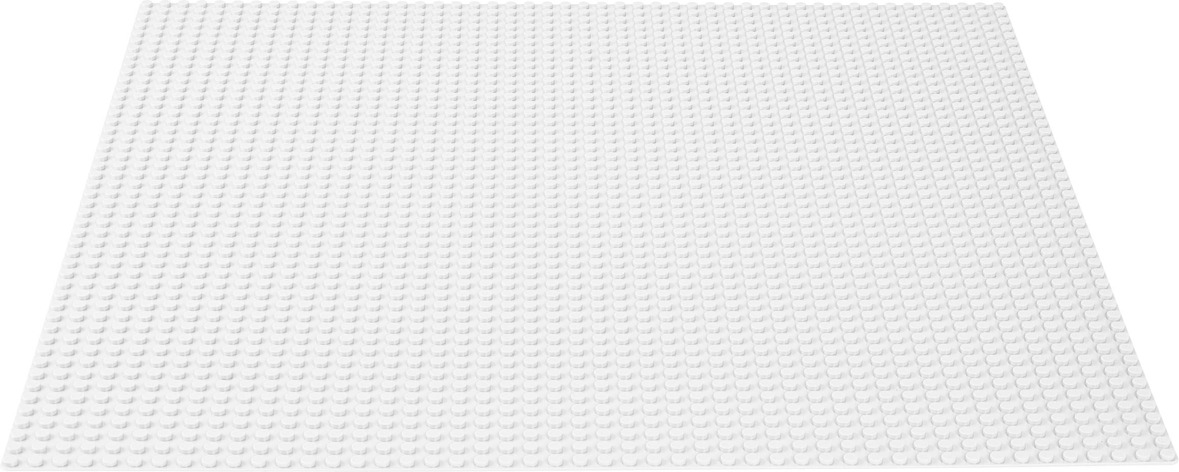 White baseplate