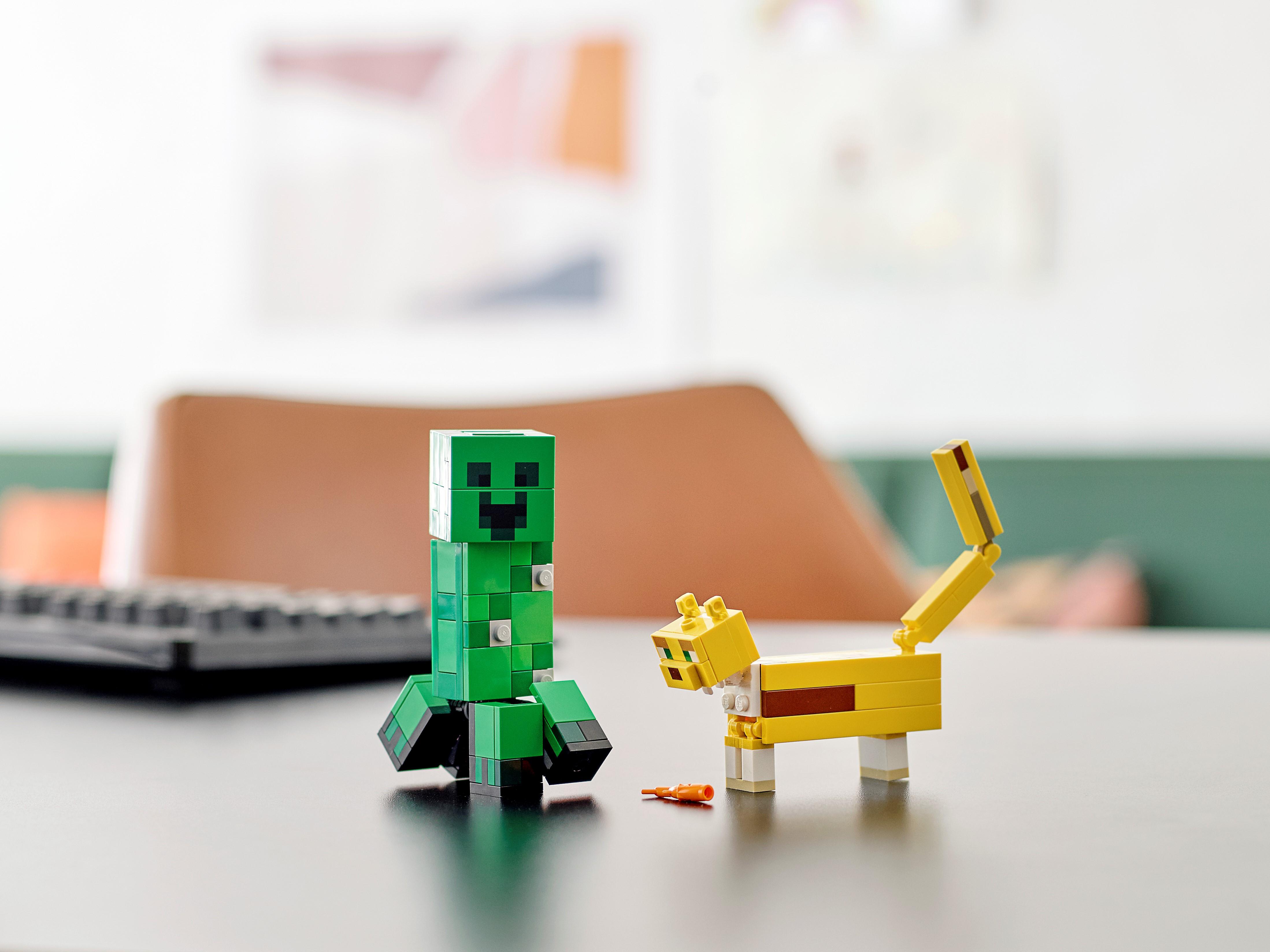 BigFig Creeper and Ocelot